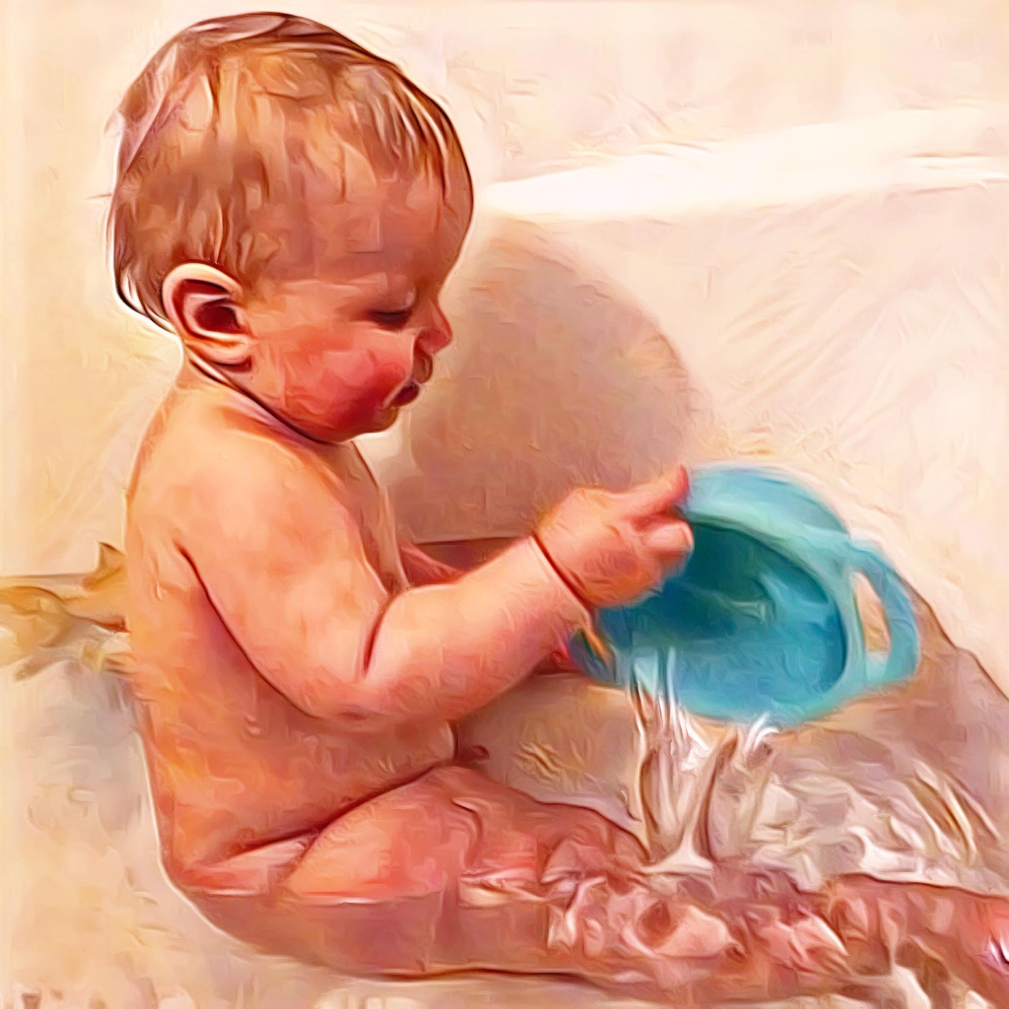Frankie's Bath-1 by Michael Brunsfeld