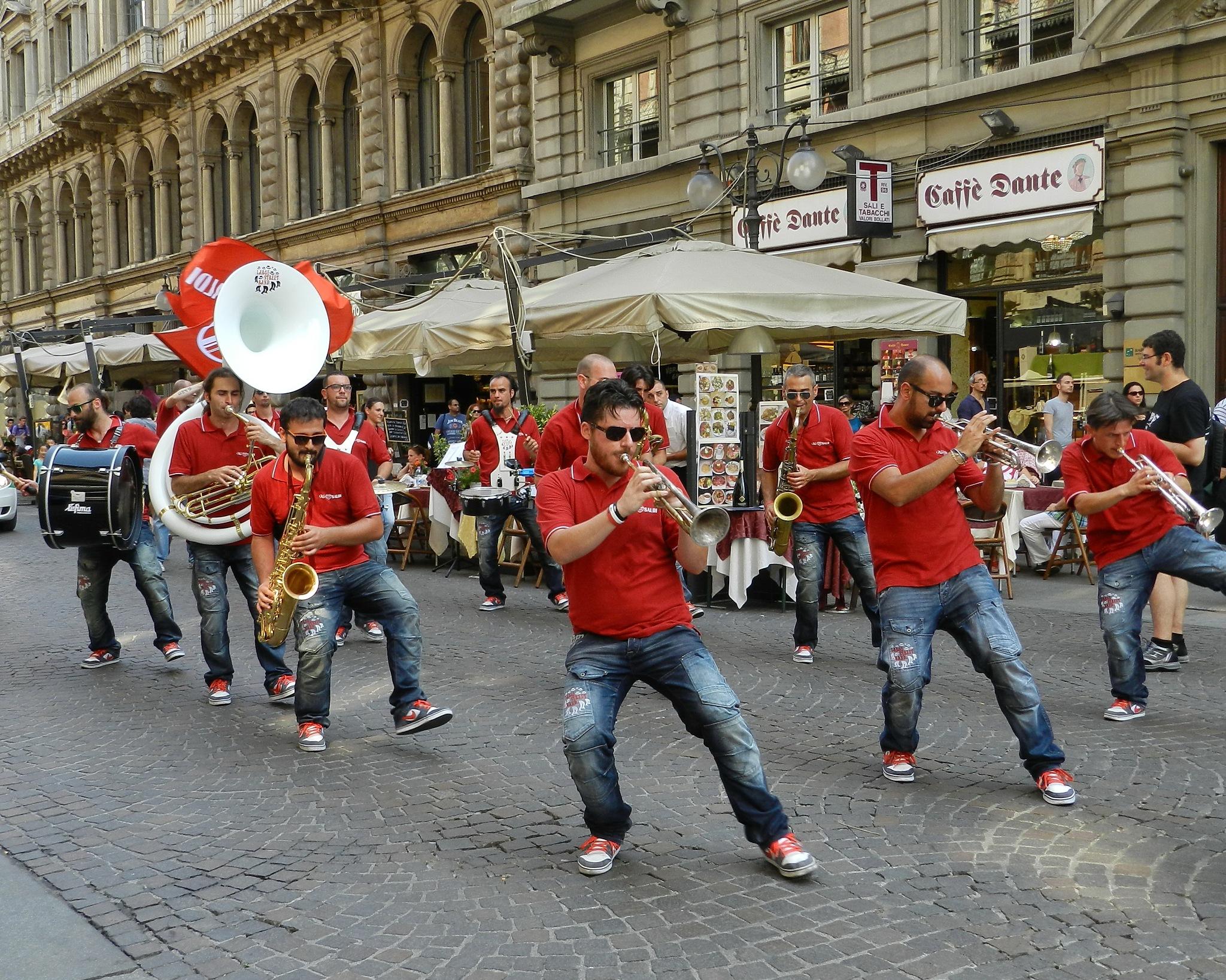 Music on Dante Street. by SvetlanaRubtcova