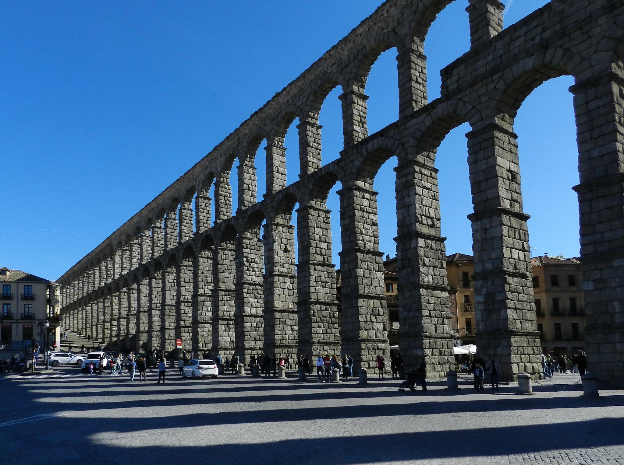 El Acueducto de Segovia. Spain.             by SvetlanaRubtcova