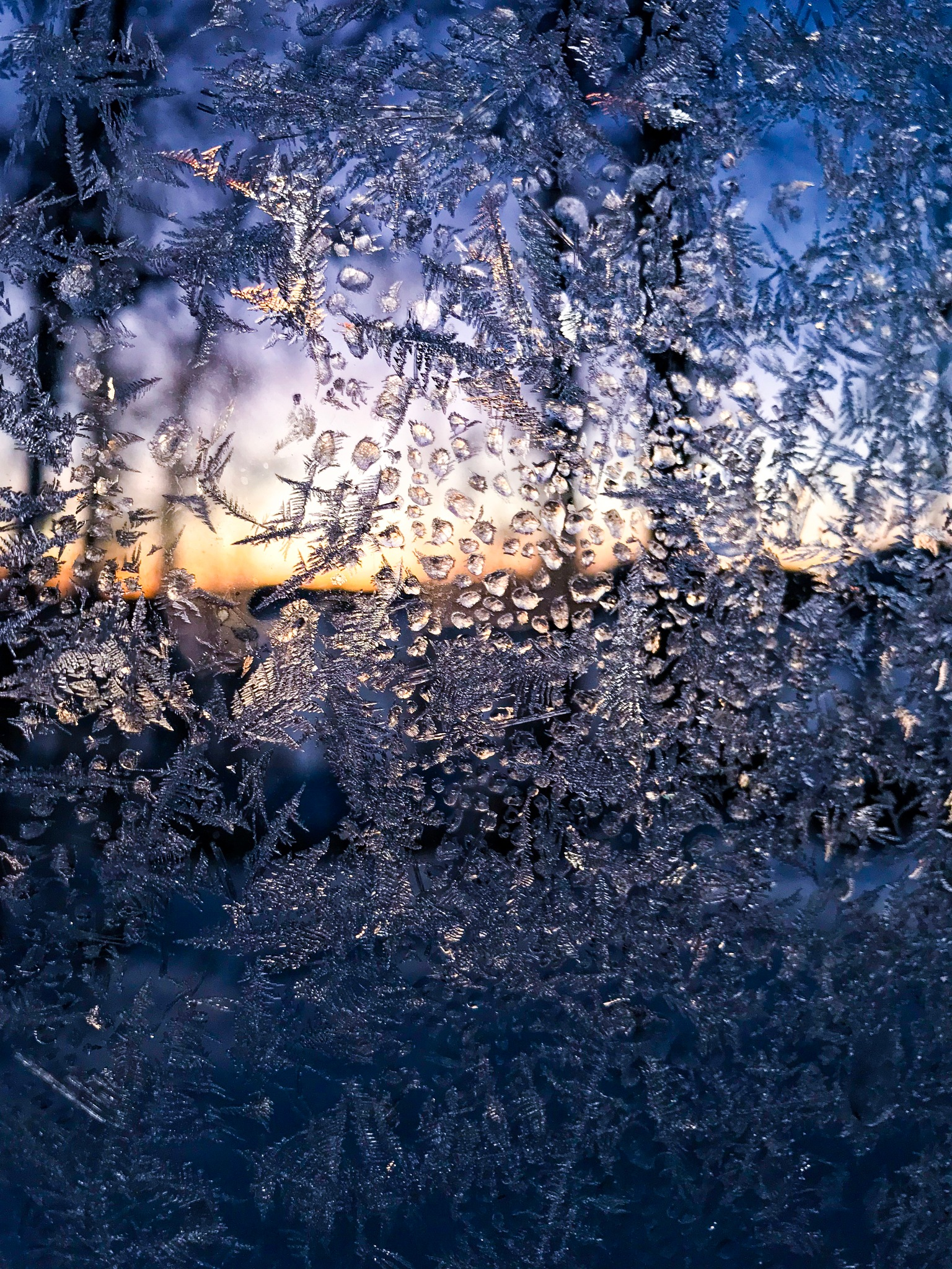 Icy window by Fredrik Norrman