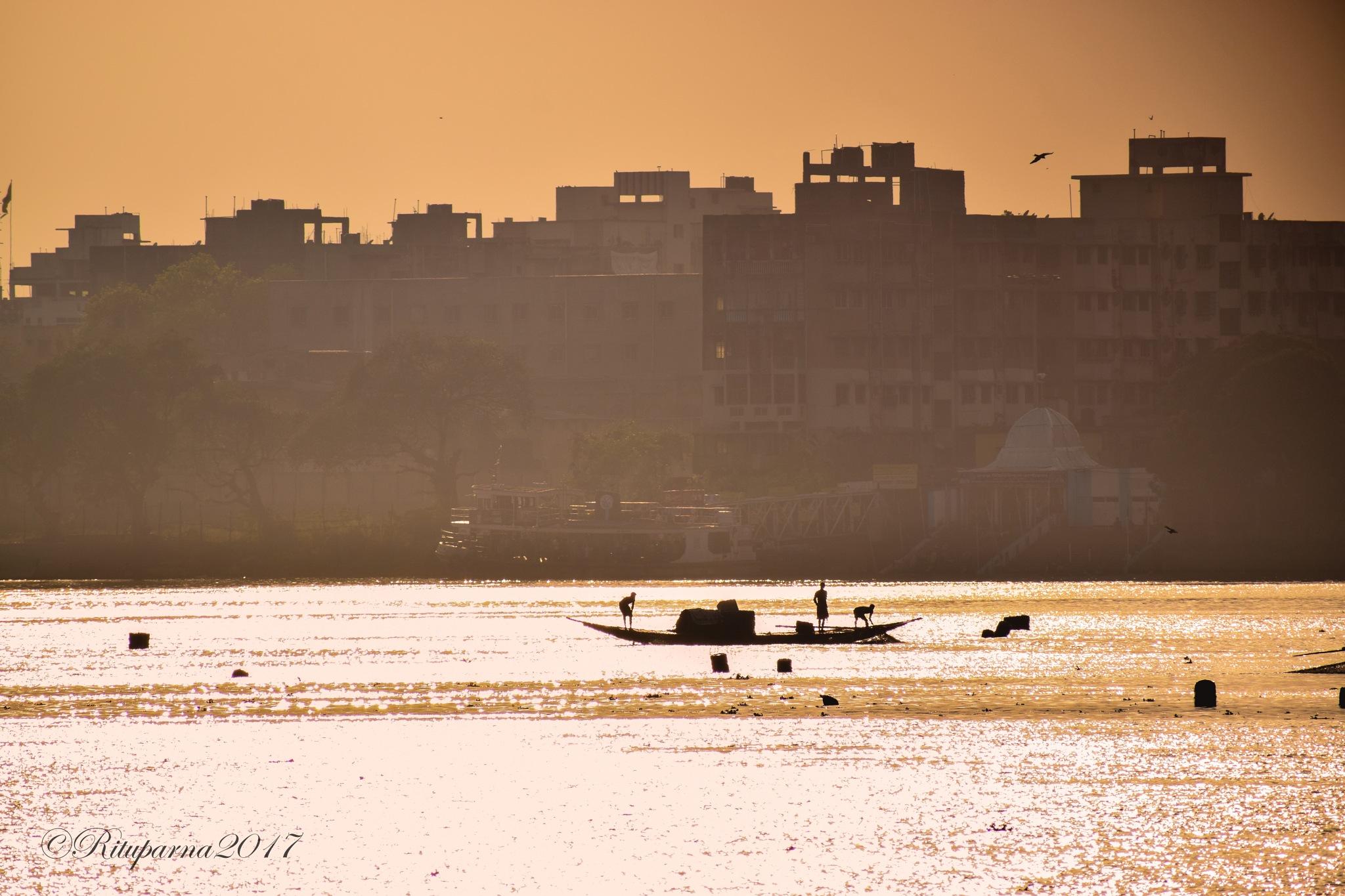~ CITYSCAPE ~ by Rituparna Sarkar