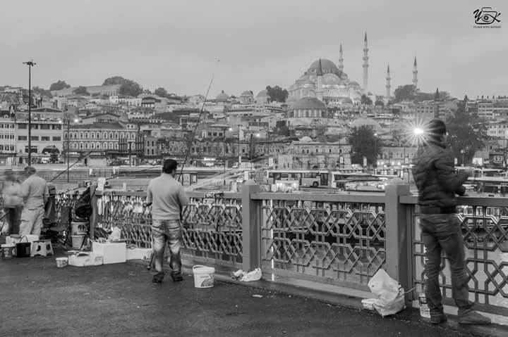 fisherman  by Yılmaz Savaş Kandağ