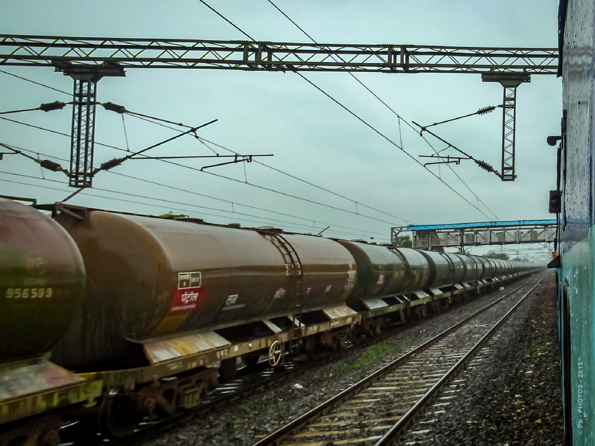 343 – FREIGHT TRAIN - RAW/ FINISH SUPPLY - INDUSTRIAL by Pb - PHOTOS