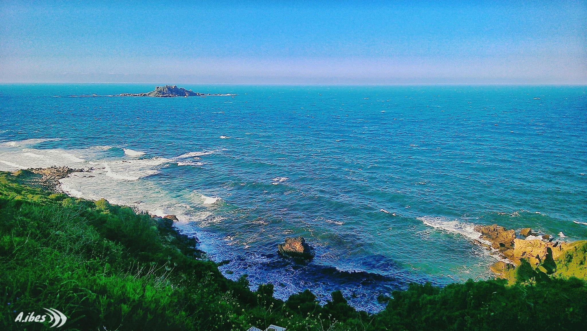 The island of the pisans (nizla) _bejaia  by Ali Ibes