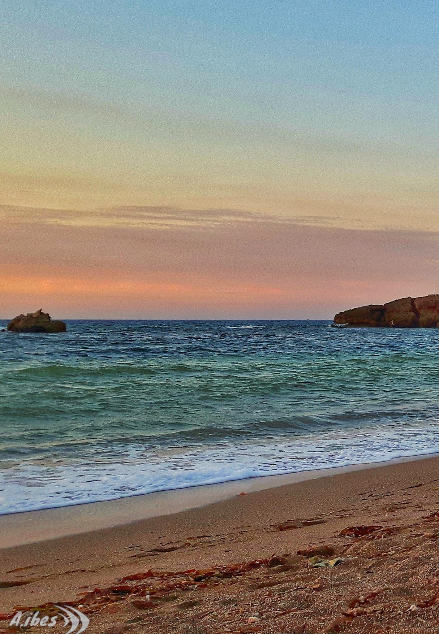 #sunset #beach #playa #plage  by Ali Ibes