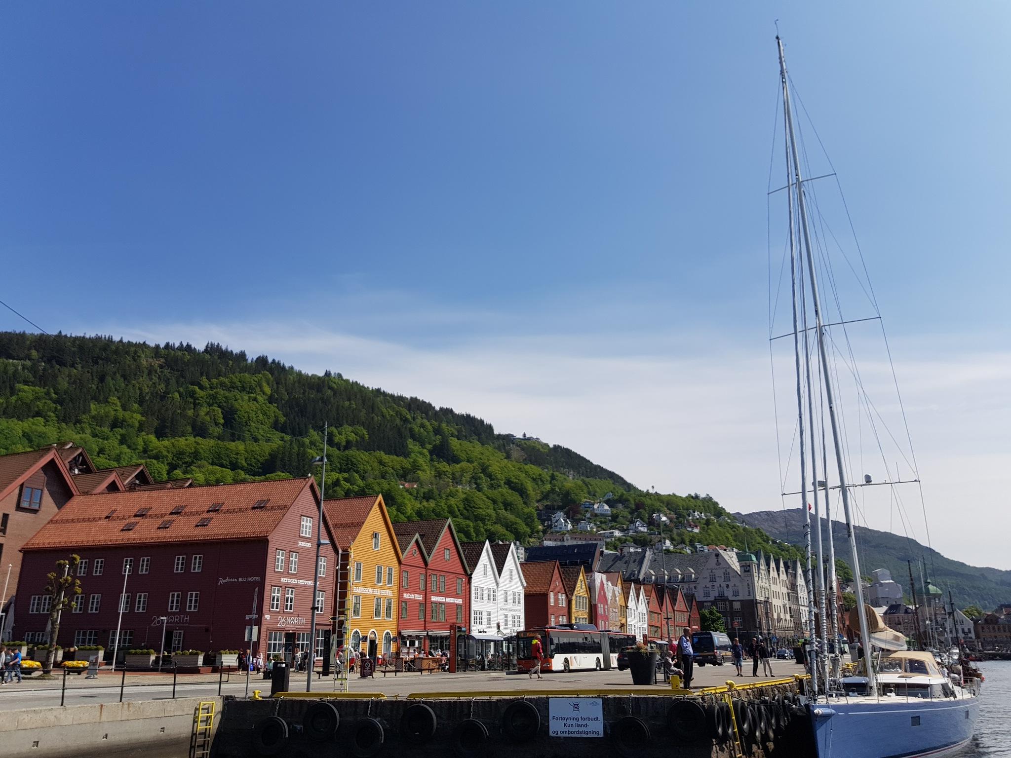 BRYGGEN IN BERGEN Norway  by Frode helland