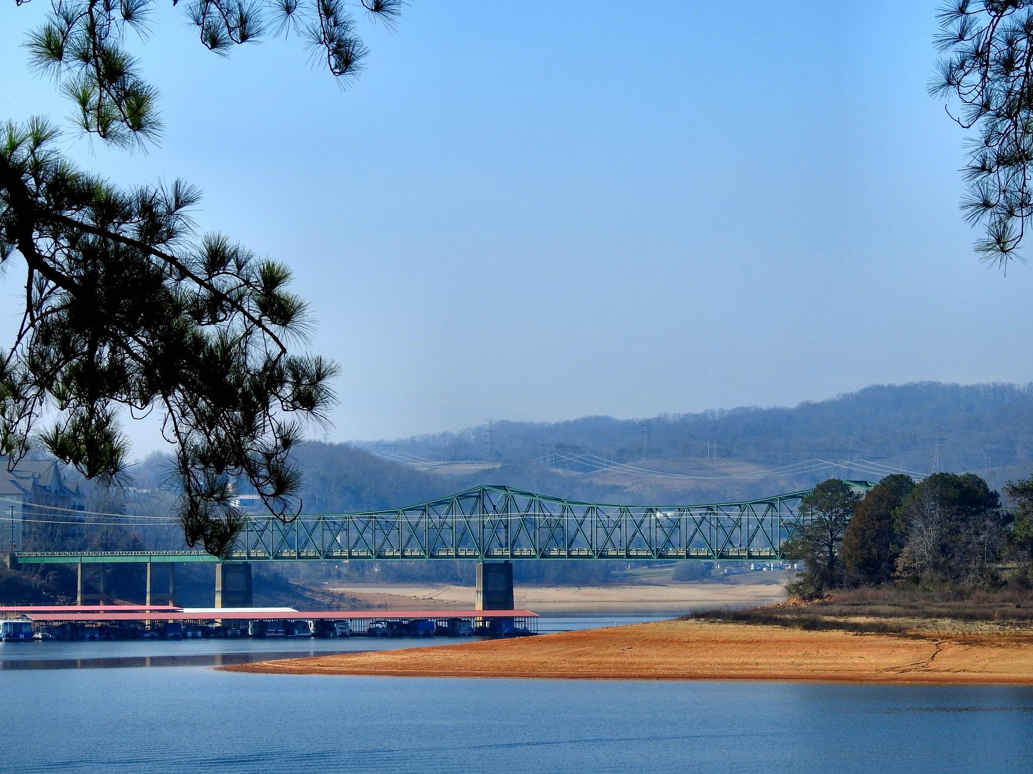 German Creek Bridge by Patty Stockton