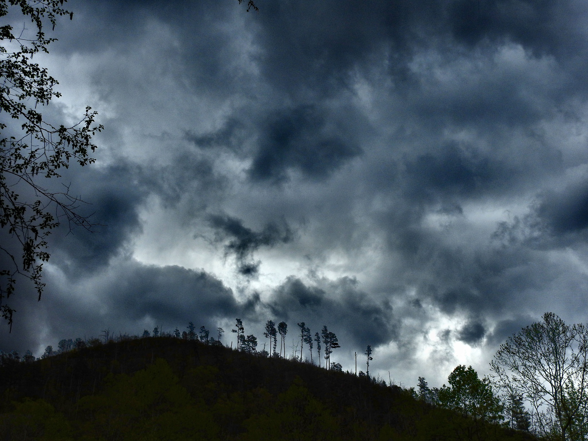 Mountain Rainy Days by Patty Stockton