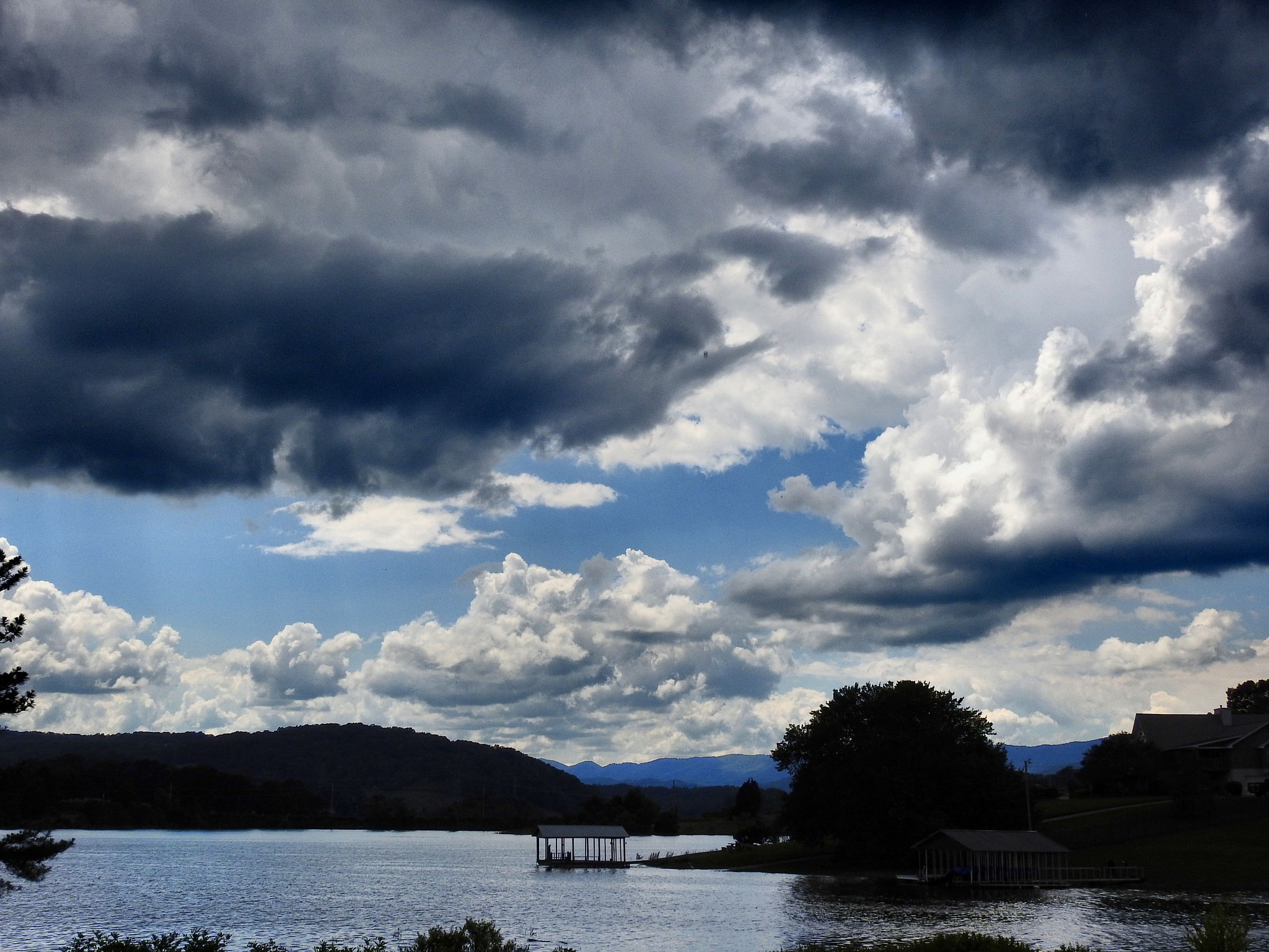 Clouds on Cherokee Lake by Patty Stockton