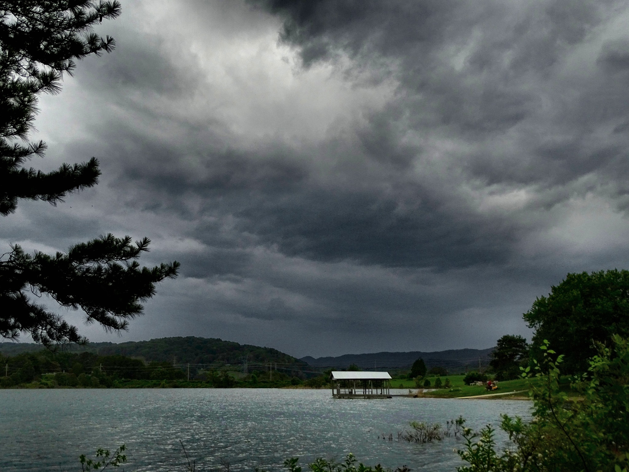 Clouds and Storms Move In by Patty Stockton