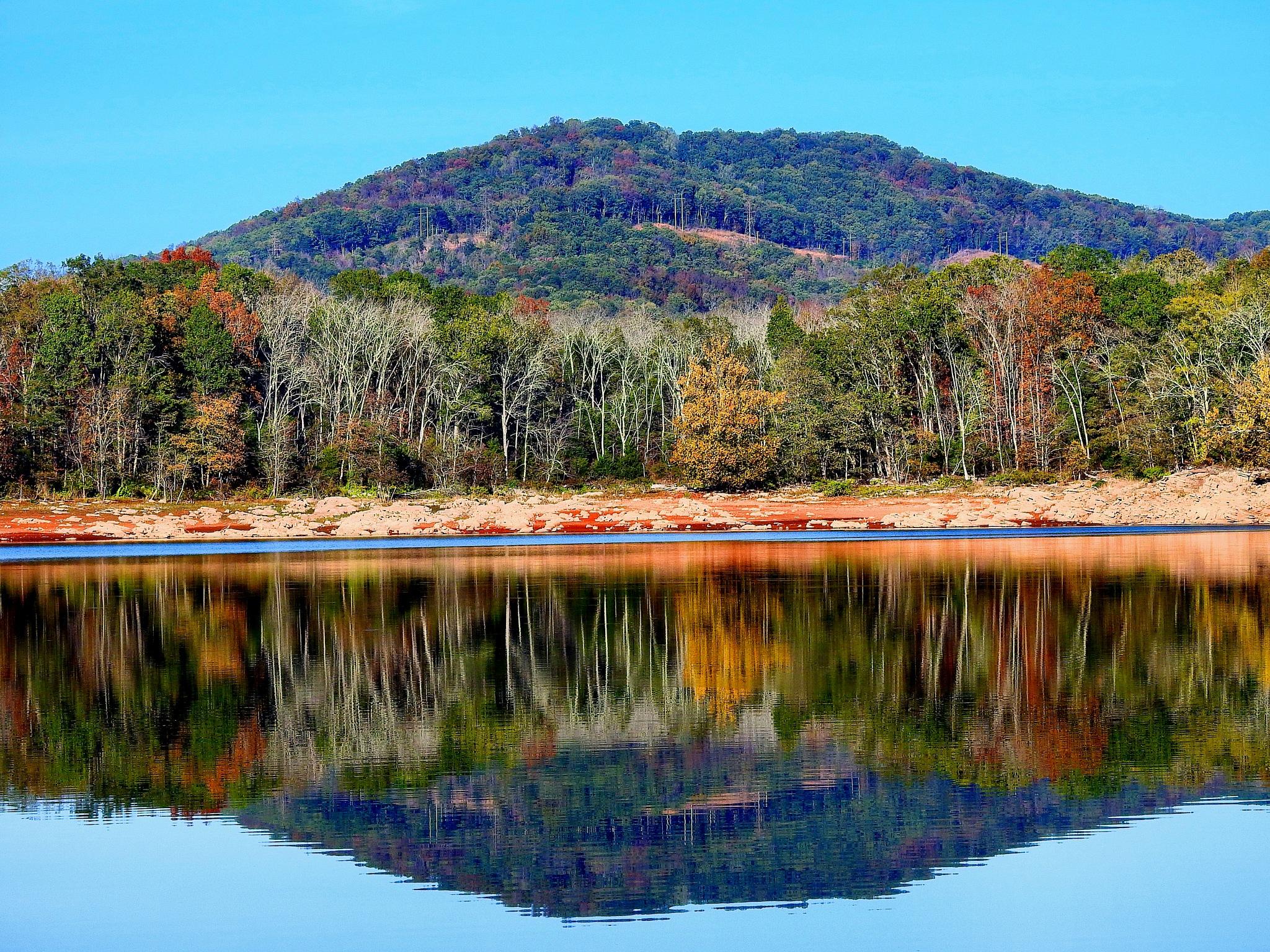 Lake Reflections by Patty Stockton