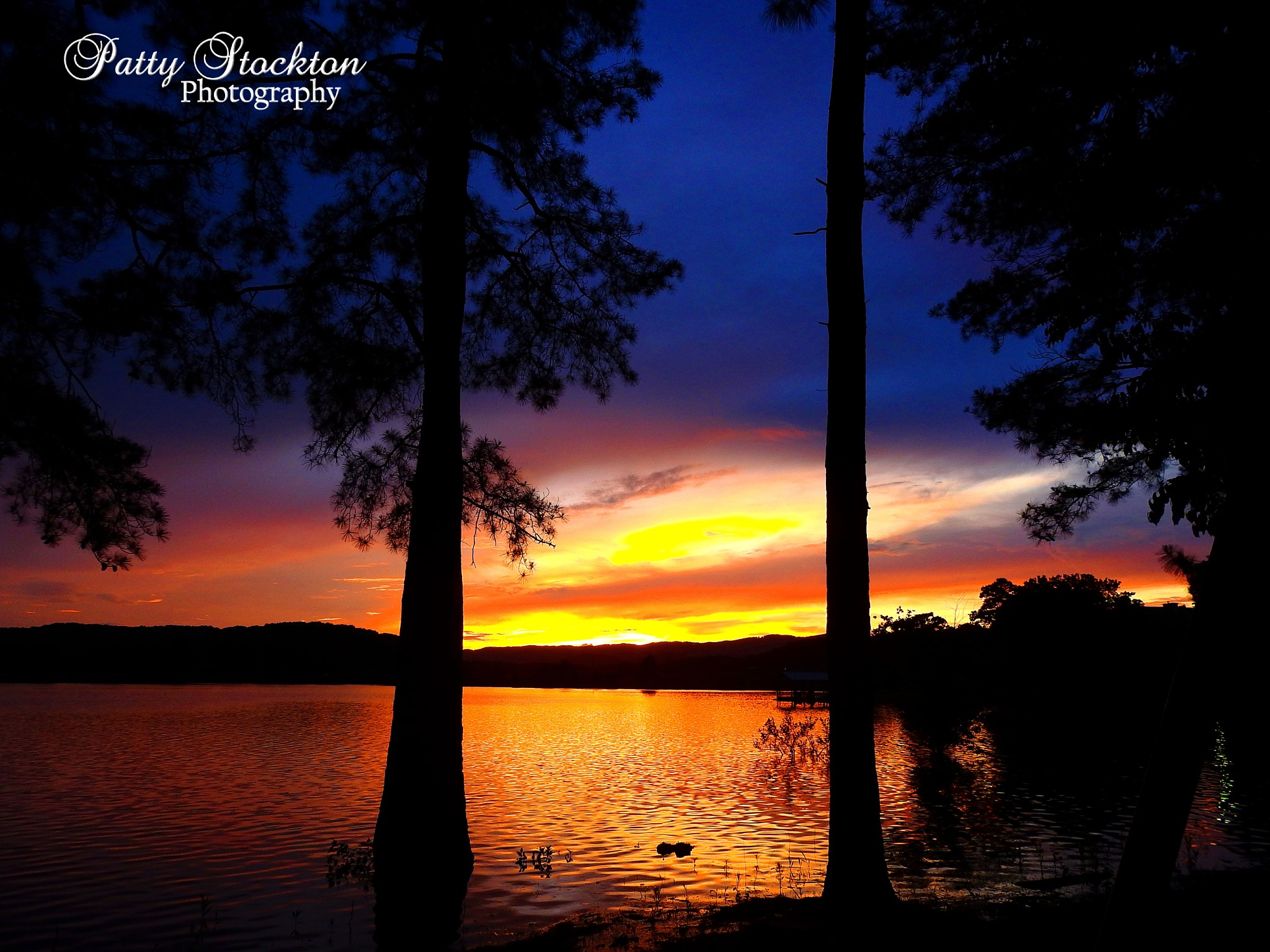 Sunset on Cherokee Lake by Patty Stockton