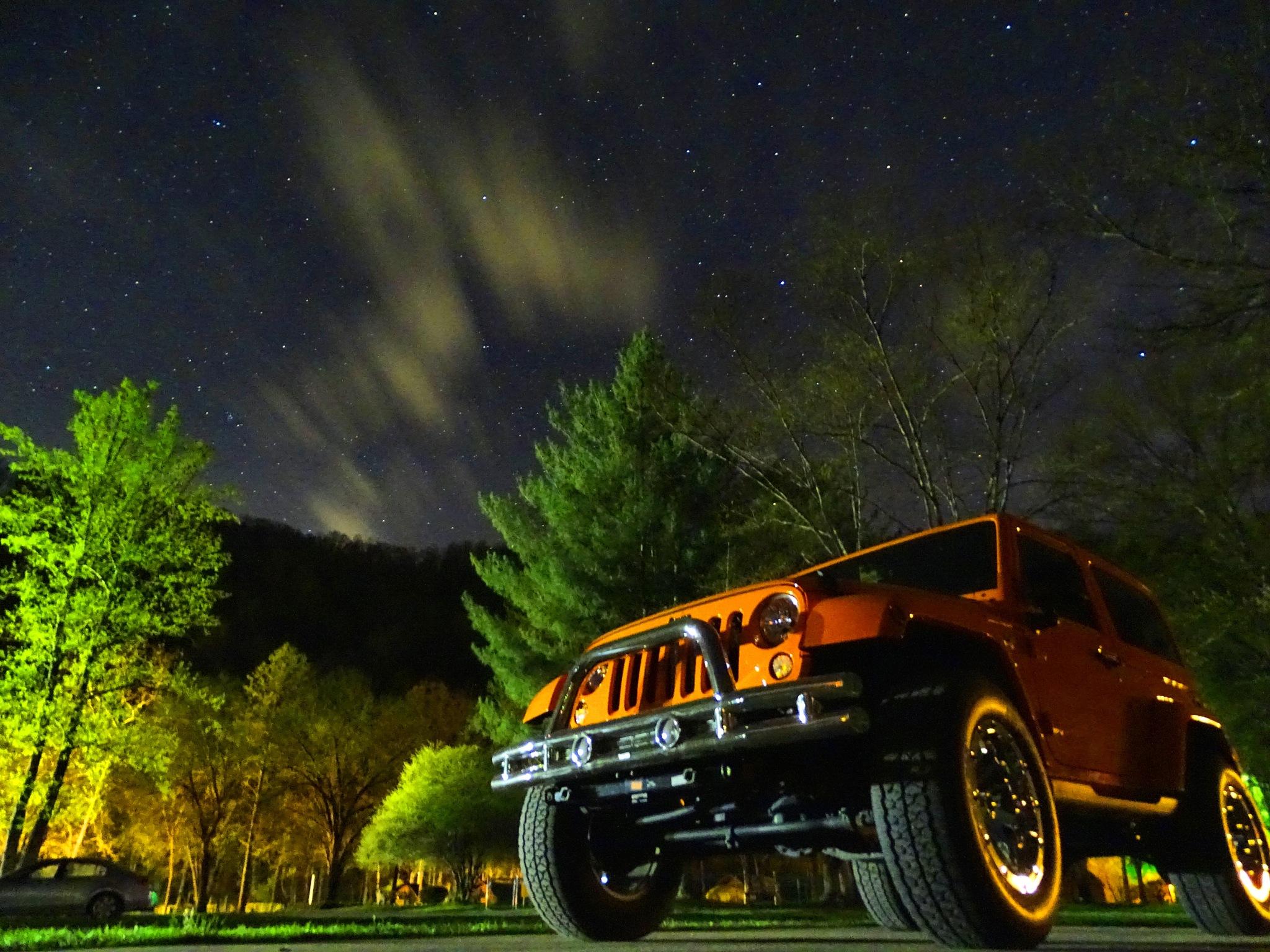 My Jeep by Patty Stockton