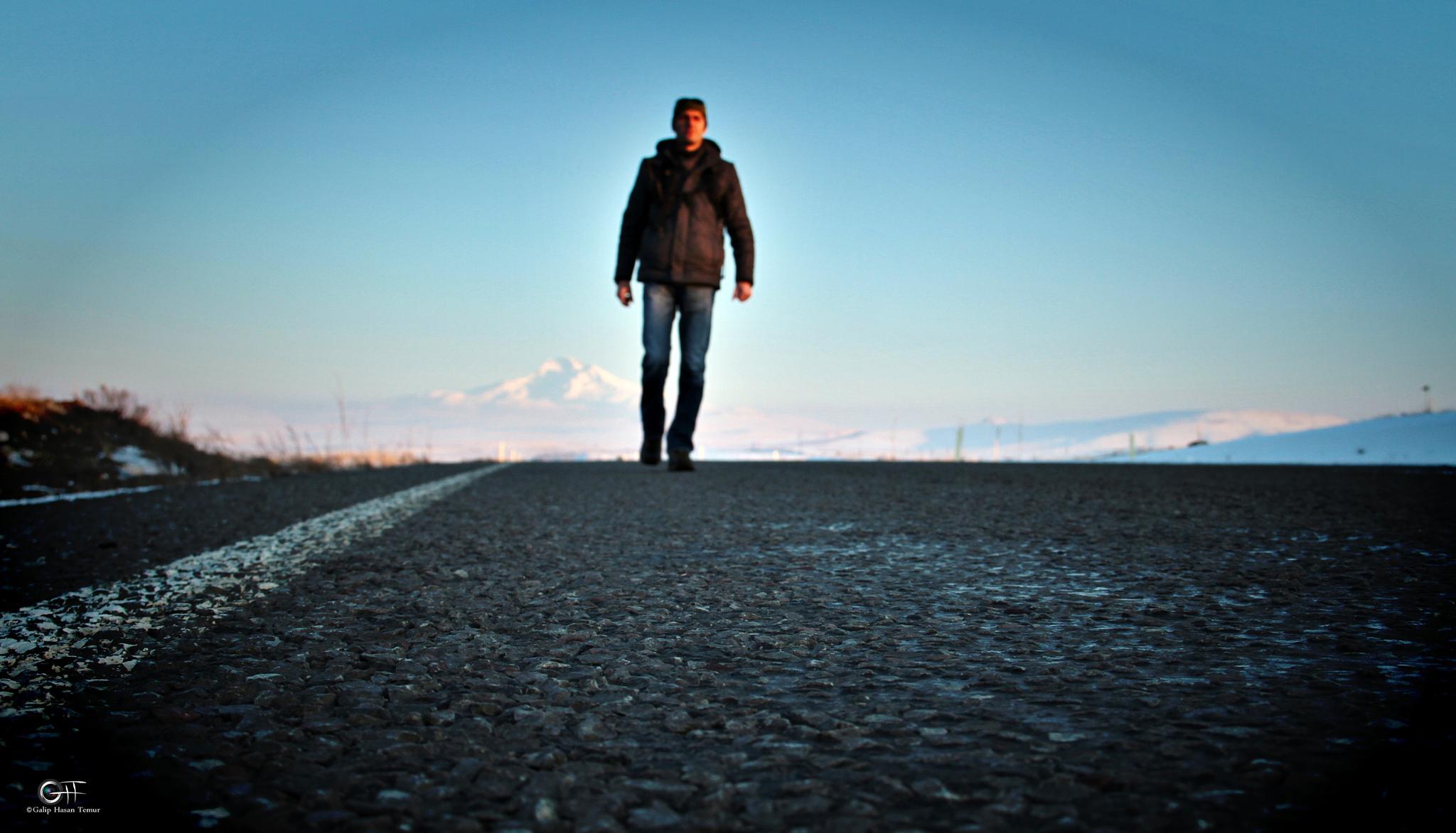 my way by Galip Hasan Temur