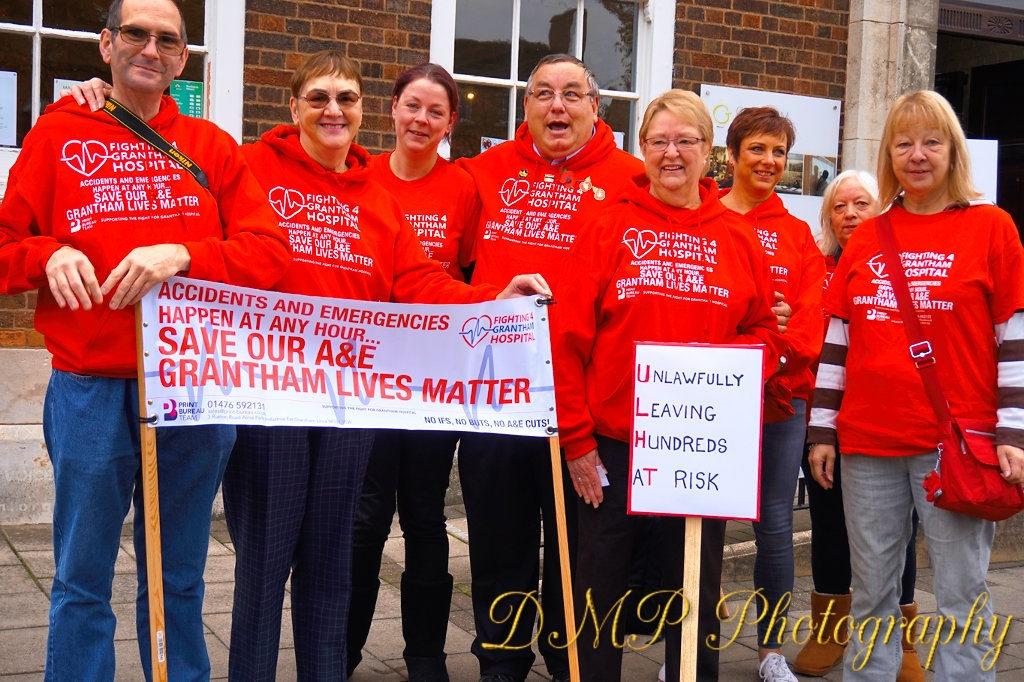 Saving A & E In Grantham  by Daniel Marshall
