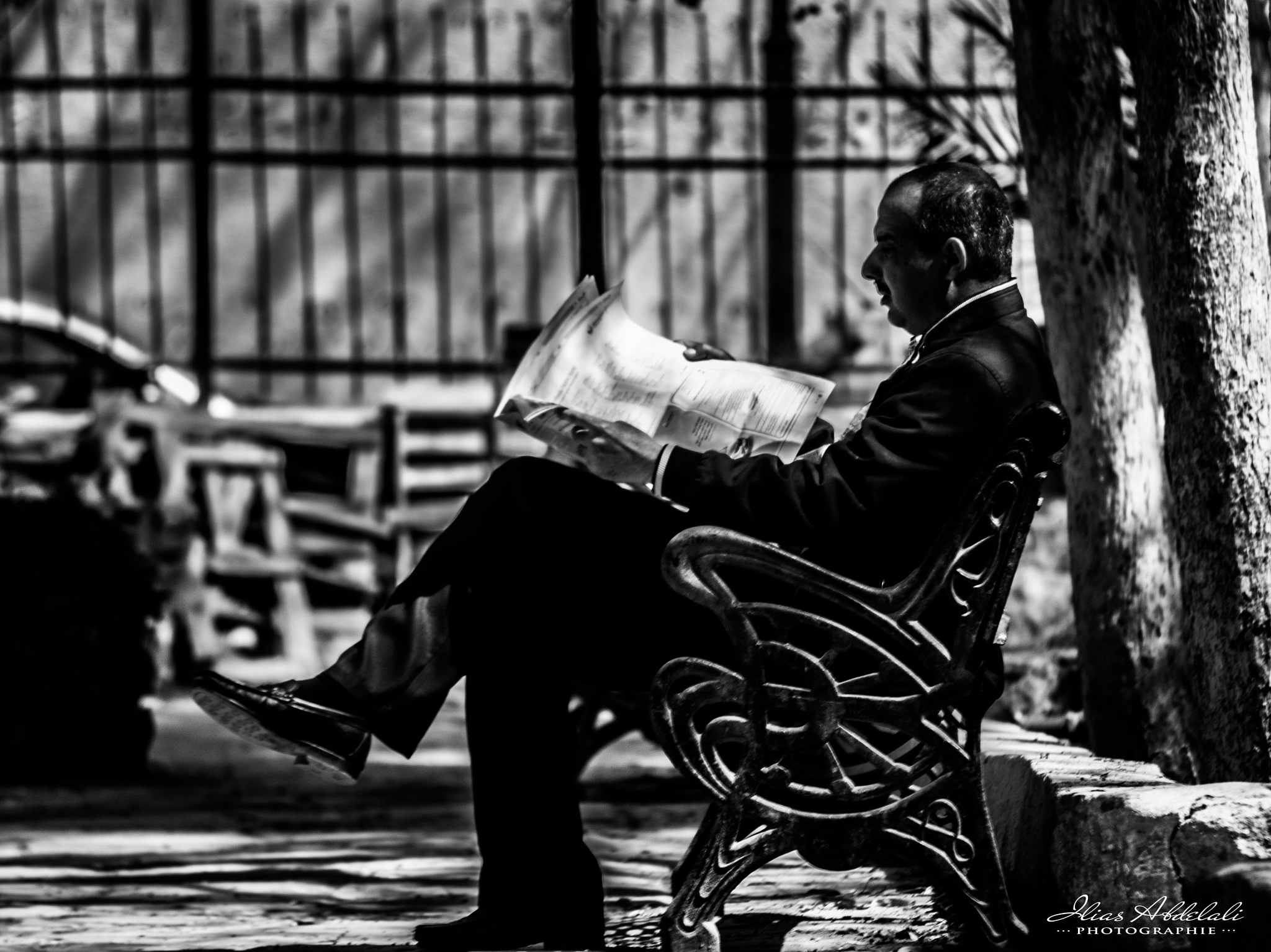 The Reader by Ilias Abdelali