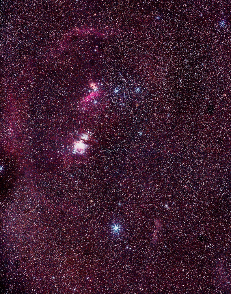 Orion Huge area of neblua gasses by Cerey Runyon