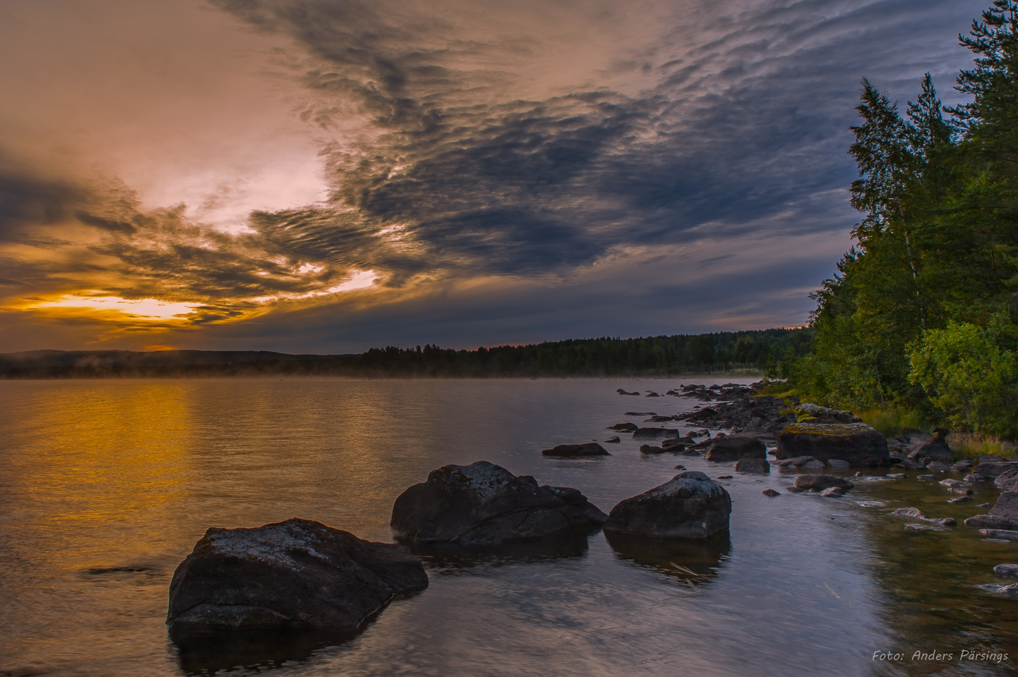 Sunrise. by Anders Pärsings