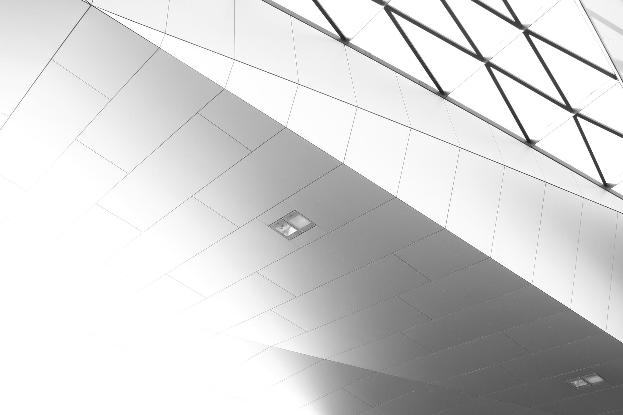 Hauptbahnhof Wien - 2 by Christian Wagner
