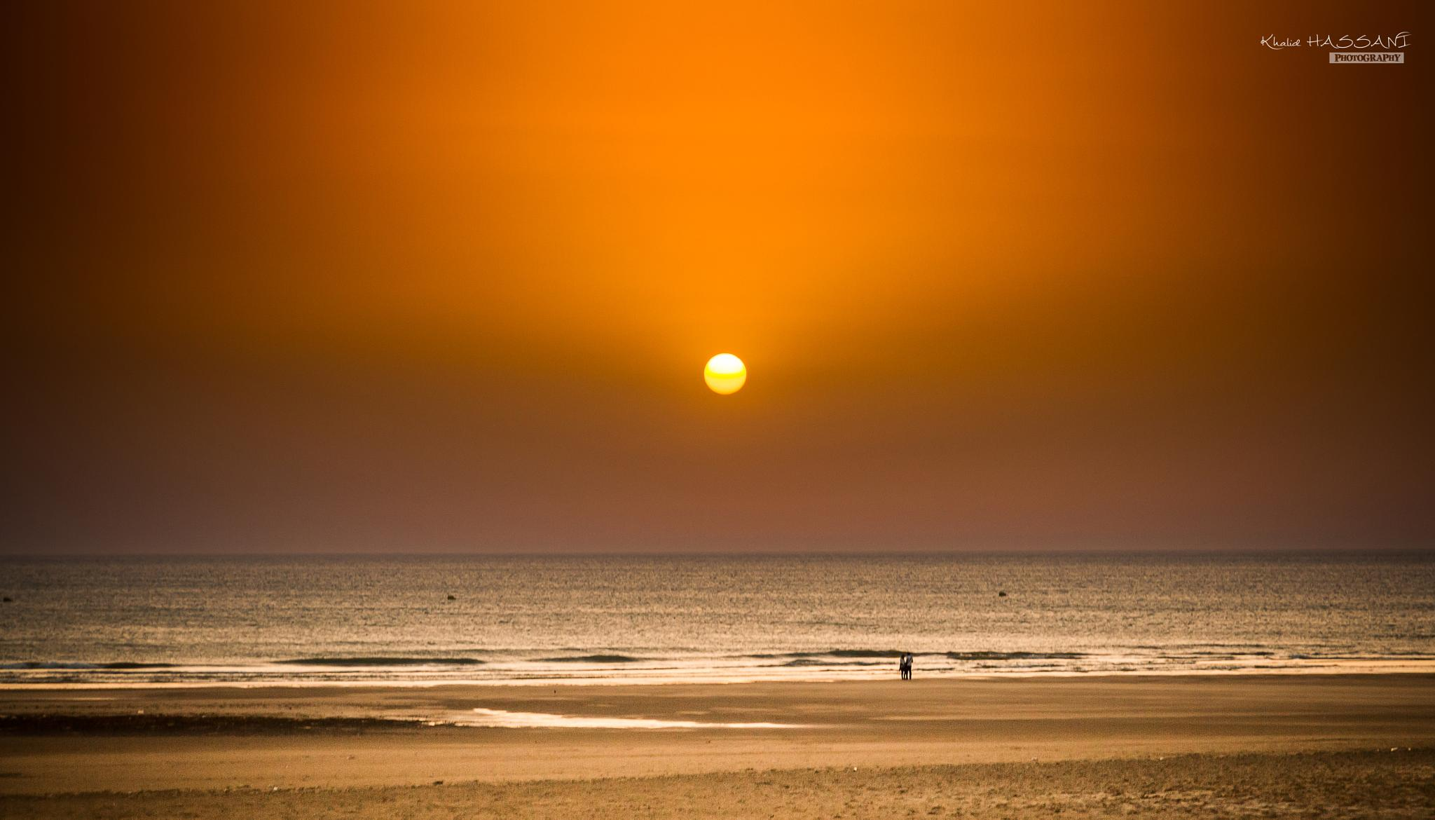 Photo in Sea and Sand #sea #mer #sun #soleil #beach #plage #or #gold #rayon #assilah #maroc #morocco