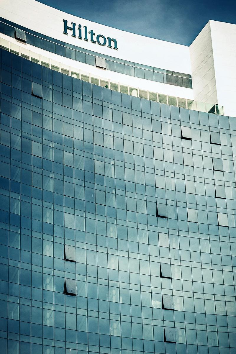 Hilton palace by Khalid Hassani