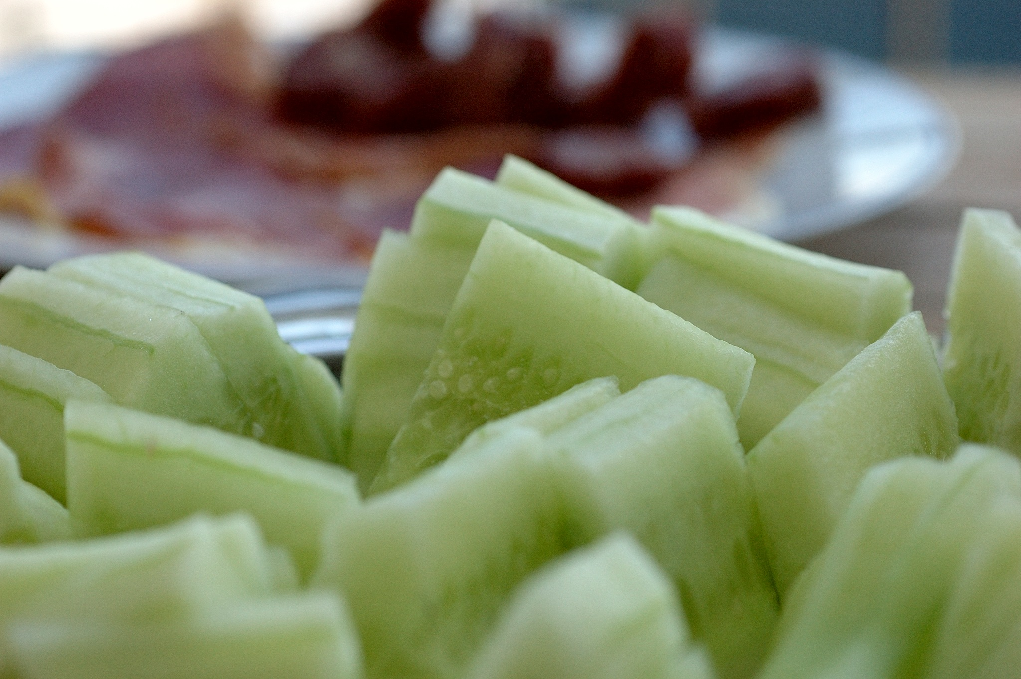 cucumbers by Frank Fremerey