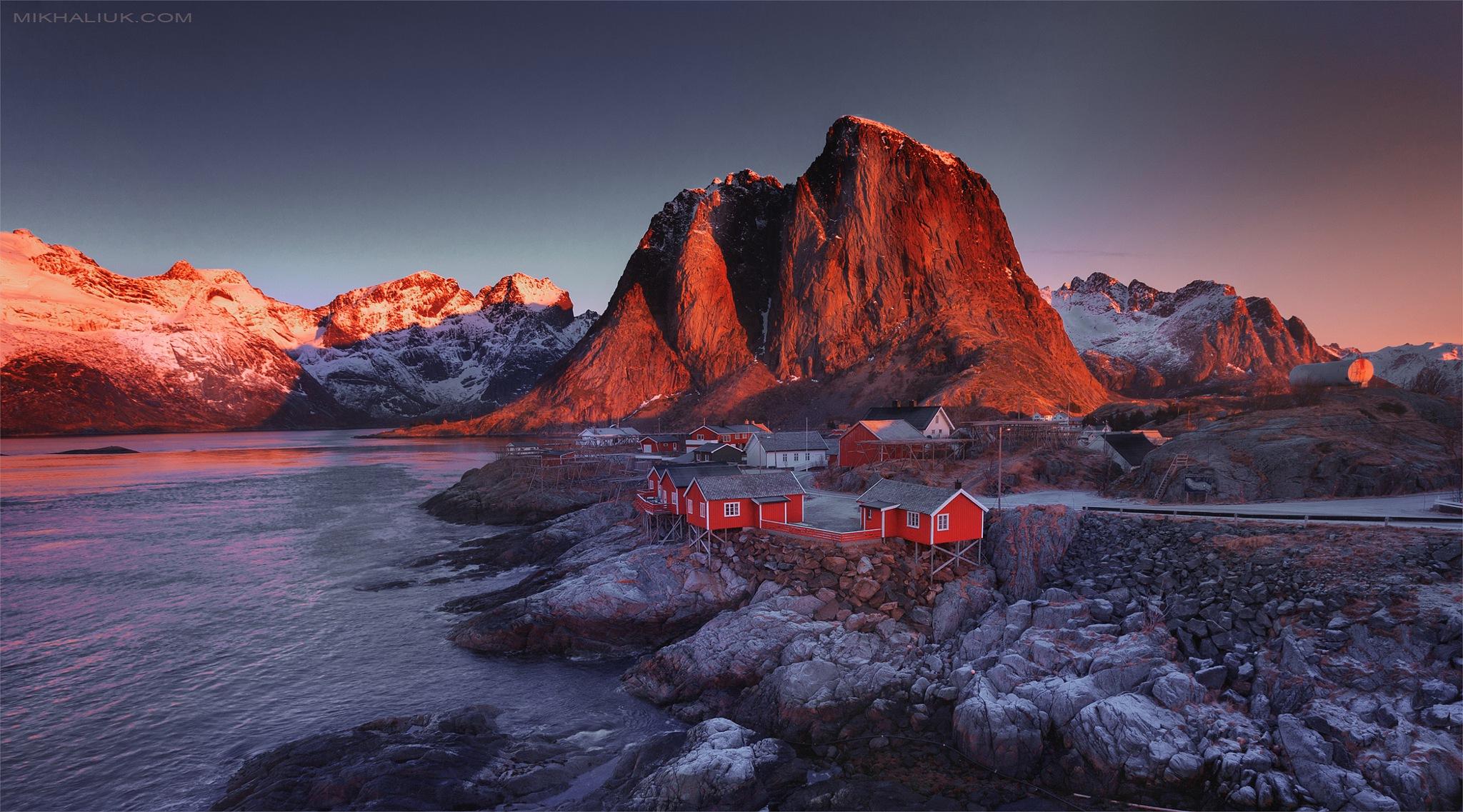 photo tuur. Norway by Siarhei Mikhaliuk