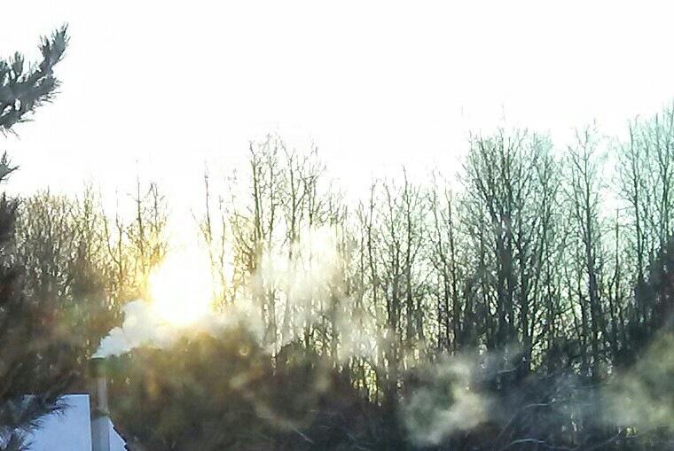 Sunrise Through the Smoke by Tammy Dyer
