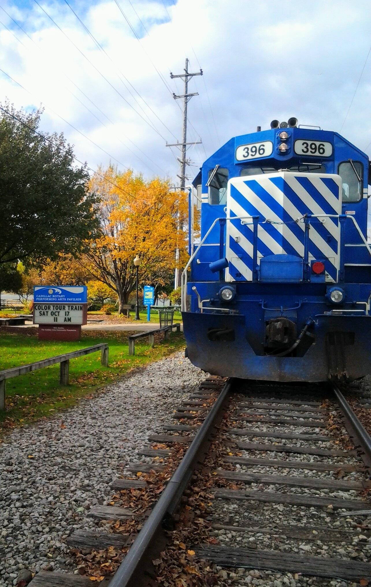 Train Autumn Color Tour by Tammy Dyer
