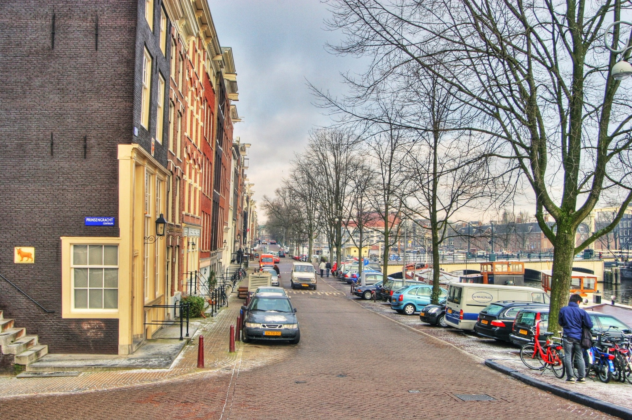 Amsterdam by Frans van Maurik