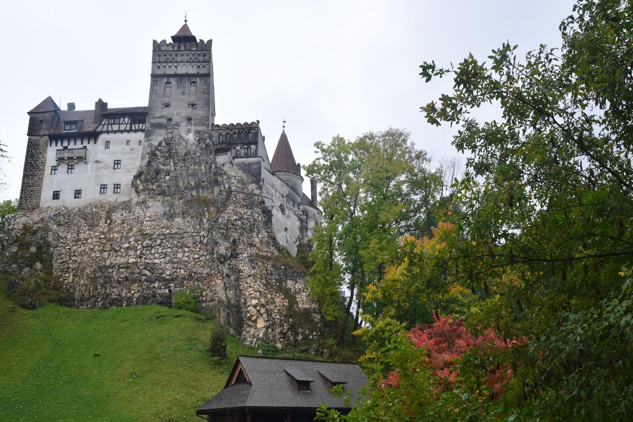 Bran Castle 2 by GraemeLeePollard
