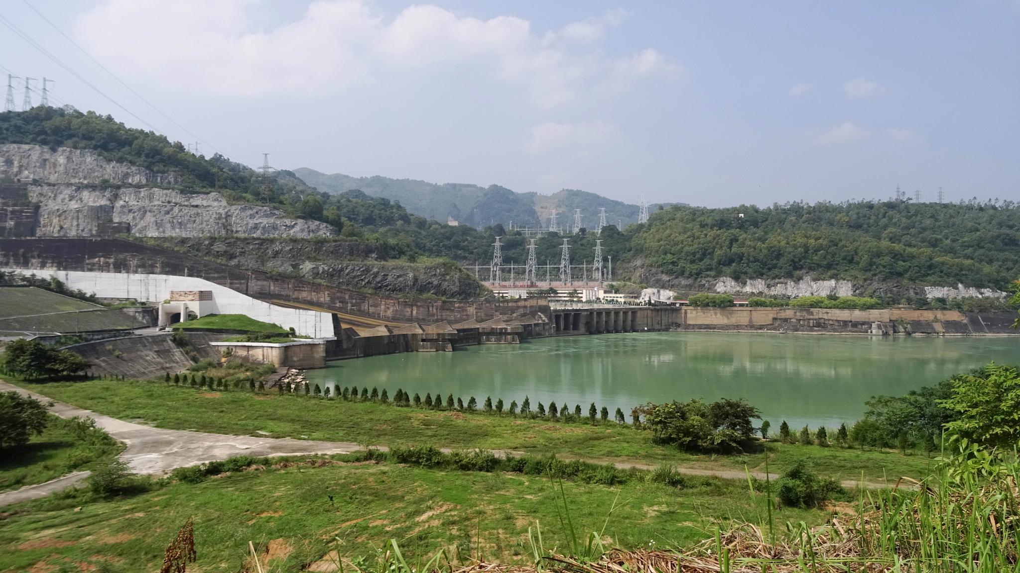 Hoa Binh Dam by Mars Ryan Hartdegen