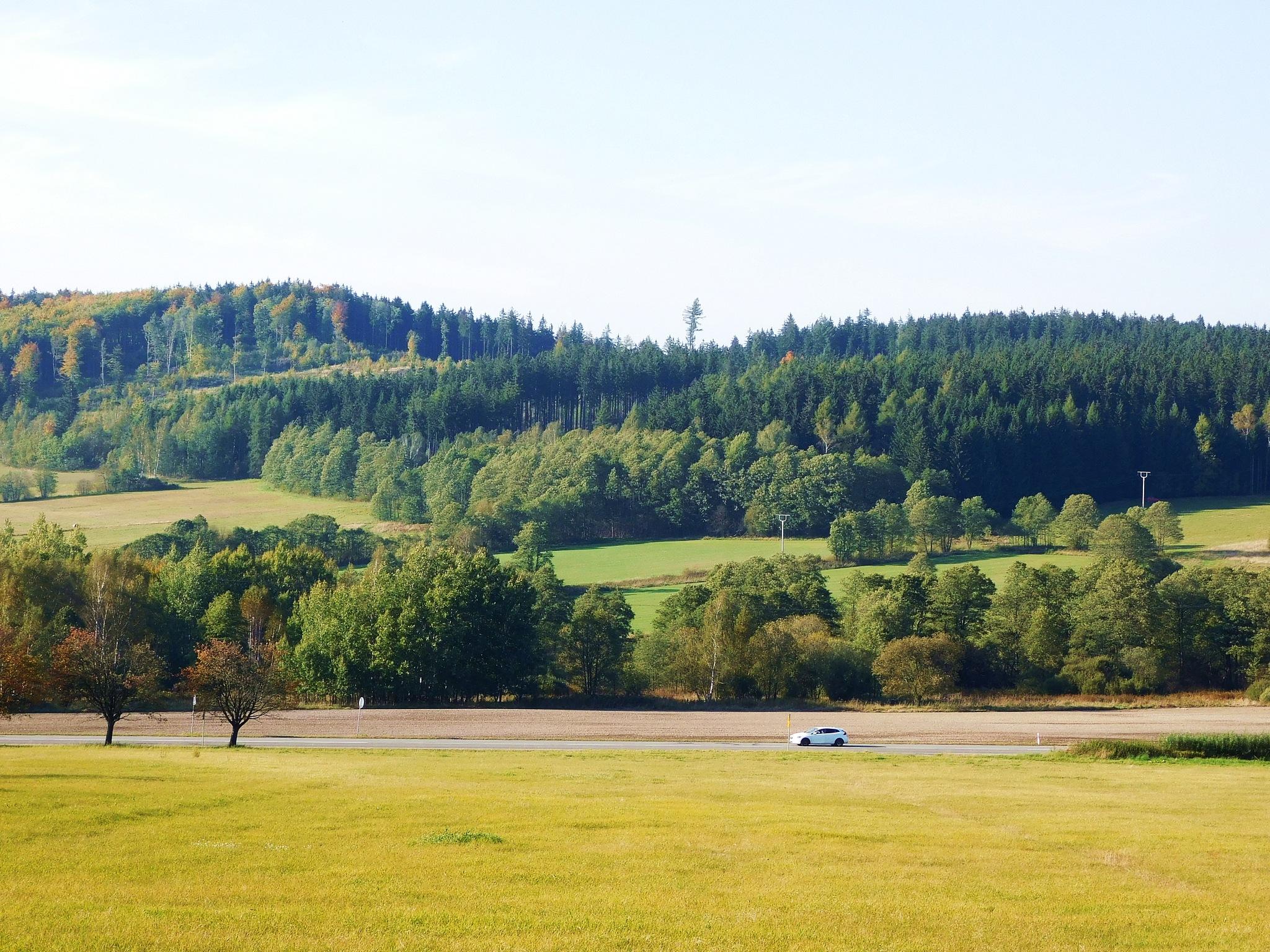 jesienny krajobraz by Zbyszek Kolano