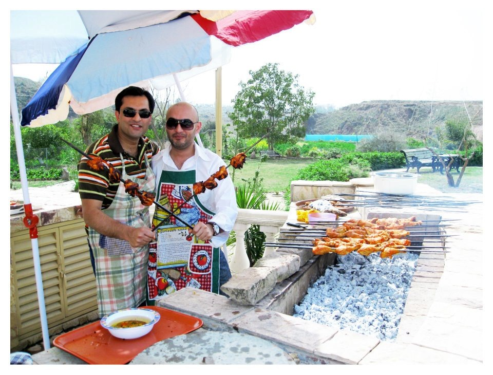 BBQ Brothers at the Farmhouse. by TariqKhan