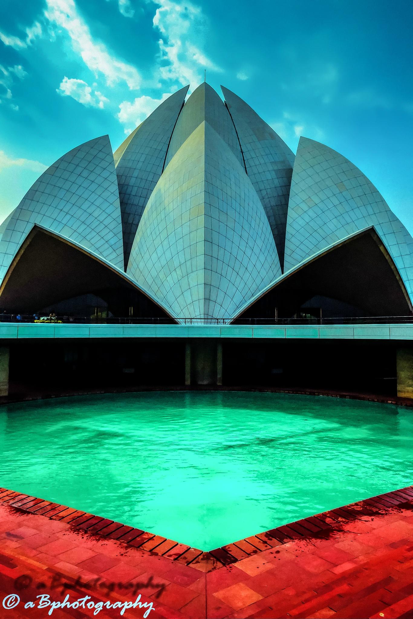 Lotus Temple by banikabhishek003
