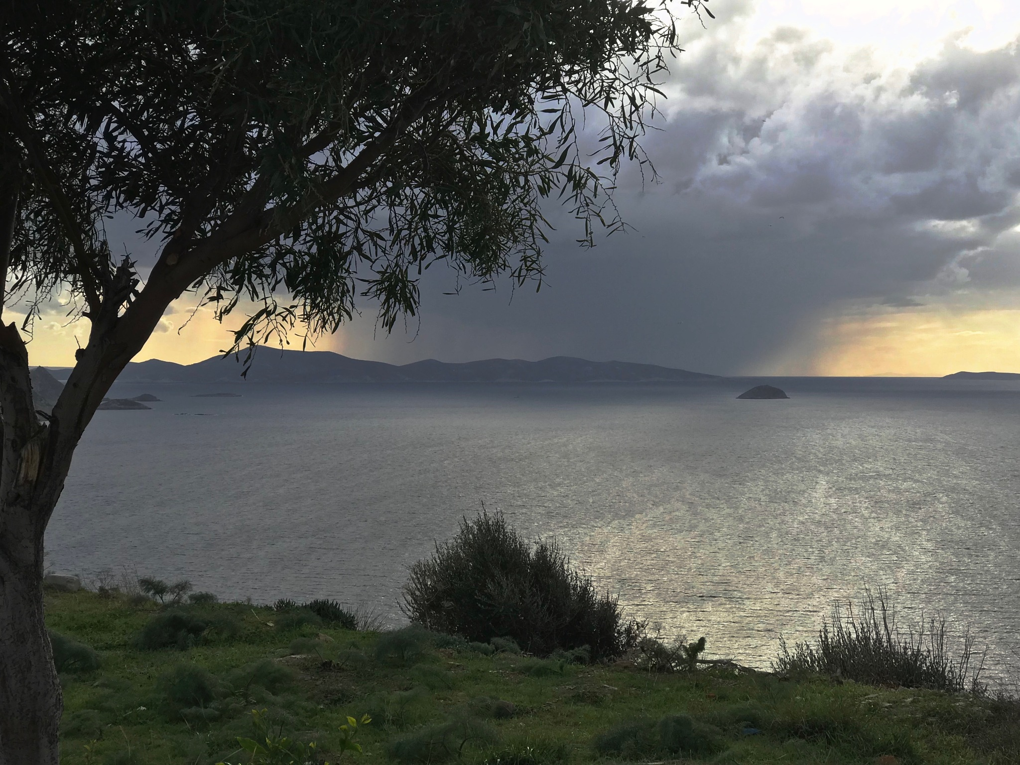 Approaching Storm by Atilla Hunal