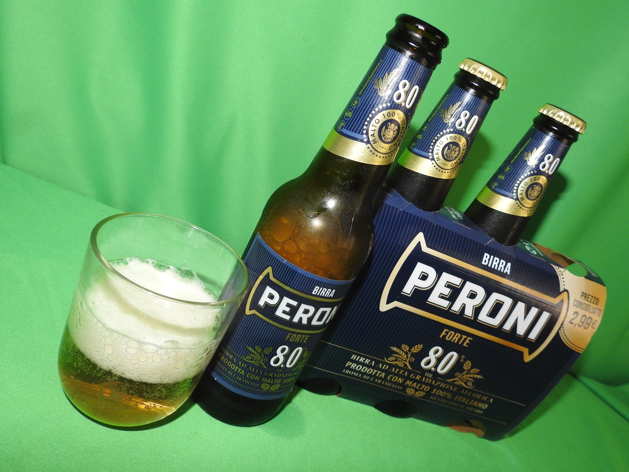 Italian Beer - Birra Peroni Forte - 8°  by Arnaldo De Lisio