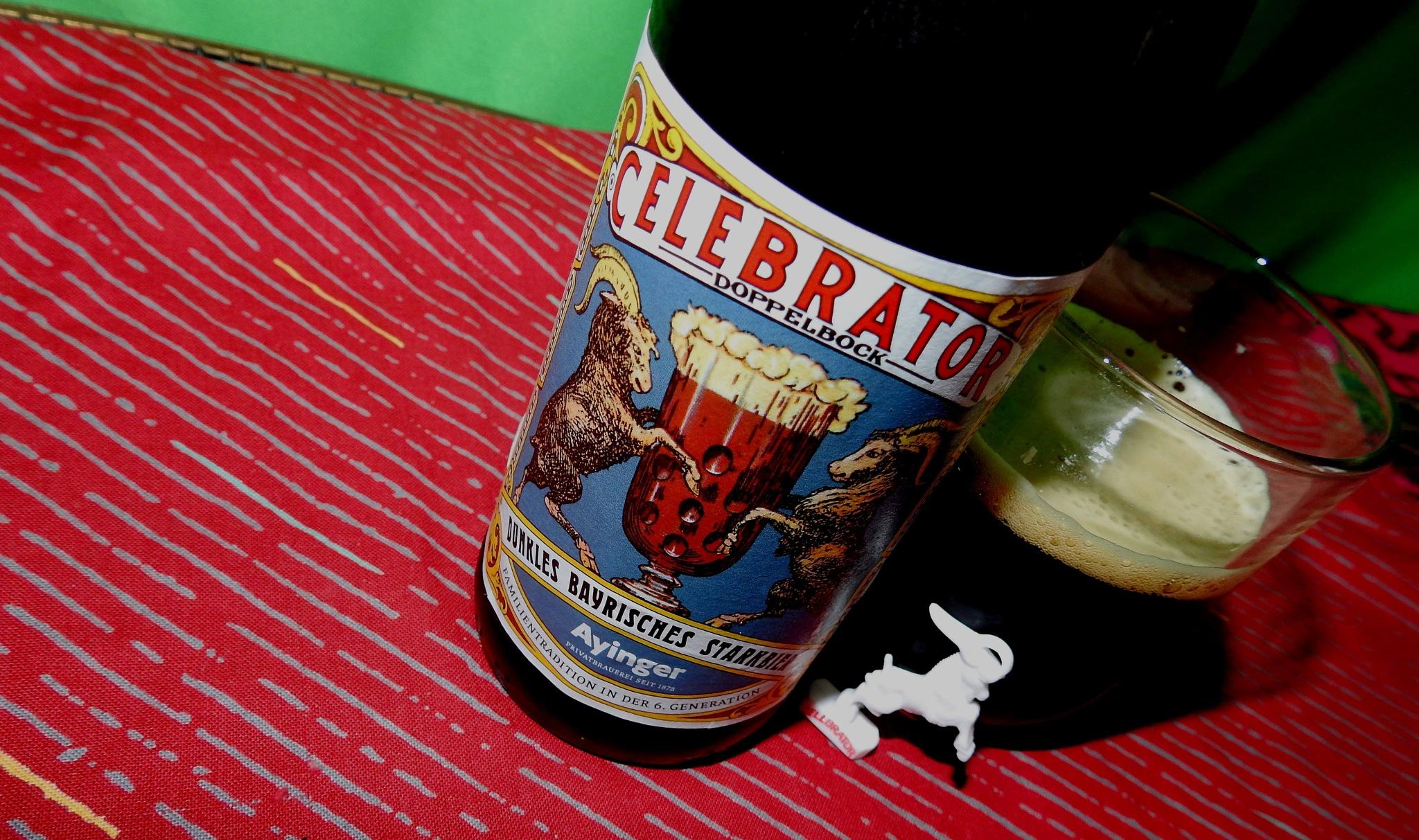 German Beer - Celebrator - Dunkles Bayrisches Starkbier - 6,7° - Ayinger - Aying Germany - 2 by Arnaldo De Lisio