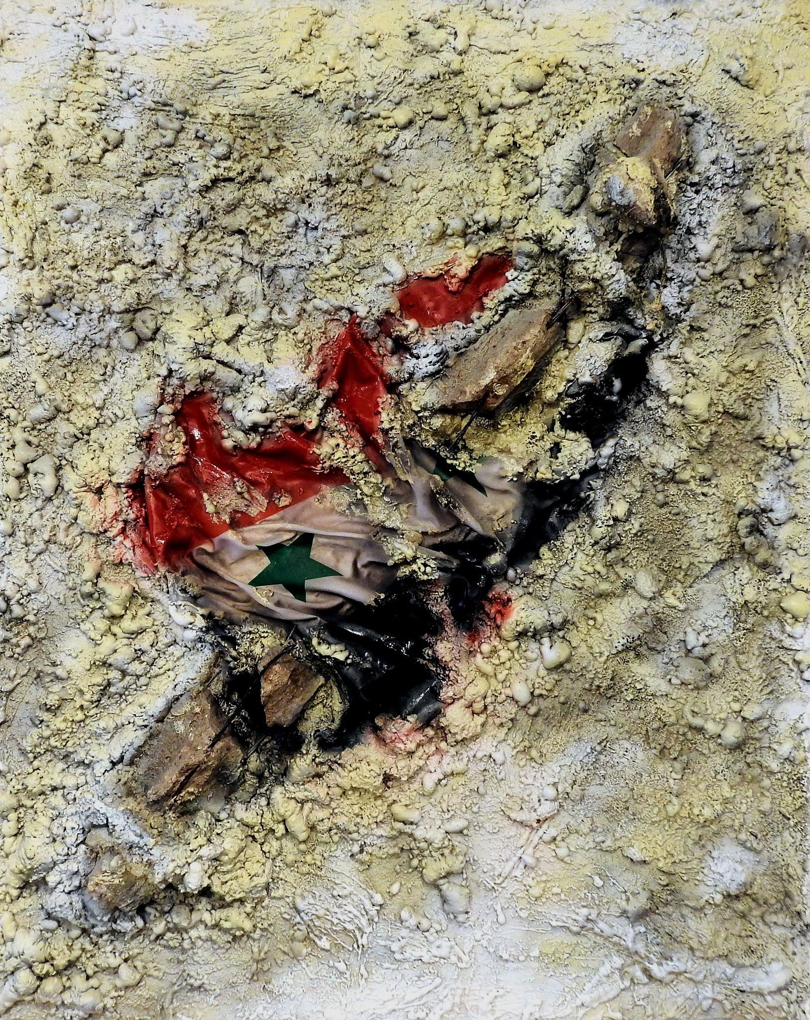 P.A.N. Napoli - Broken Flag - Maurizio Romeo - Papé Satan Aleppo - 2 by Arnaldo De Lisio