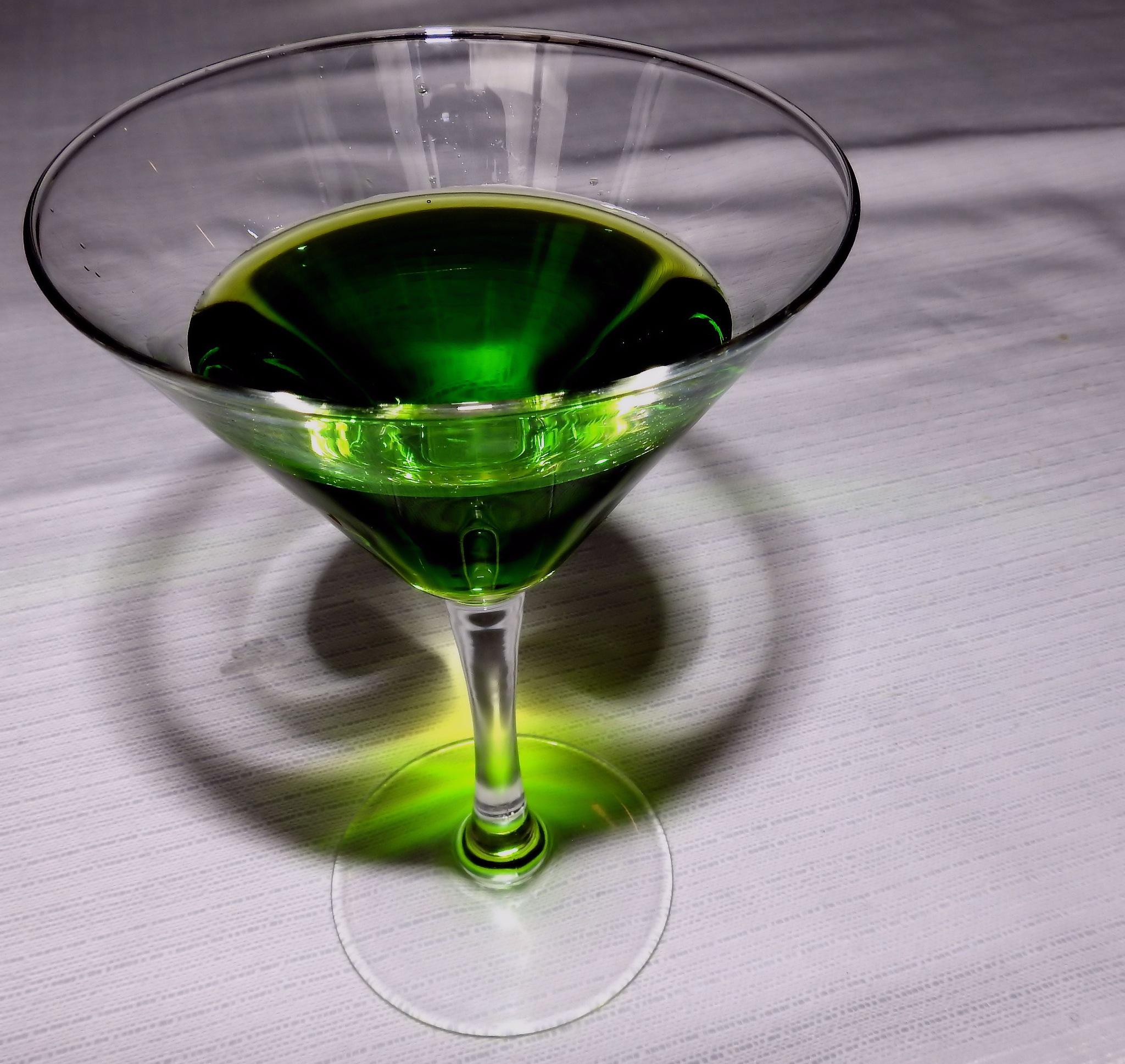 Green Dream But Not Absinthe... Mint only!!! by Arnaldo De Lisio
