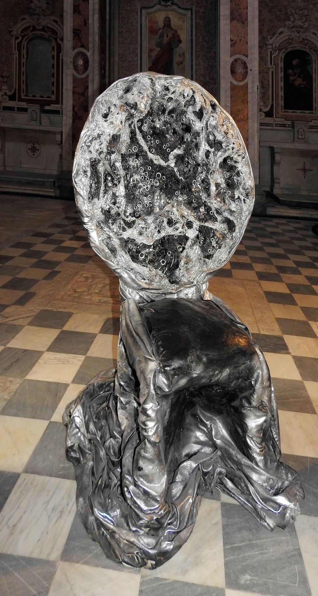 Napoli - Santa Maria la Nova - A.R.C.A. - Fiamma Zagara - Troni di vita - 4 - 2 by Arnaldo De Lisio