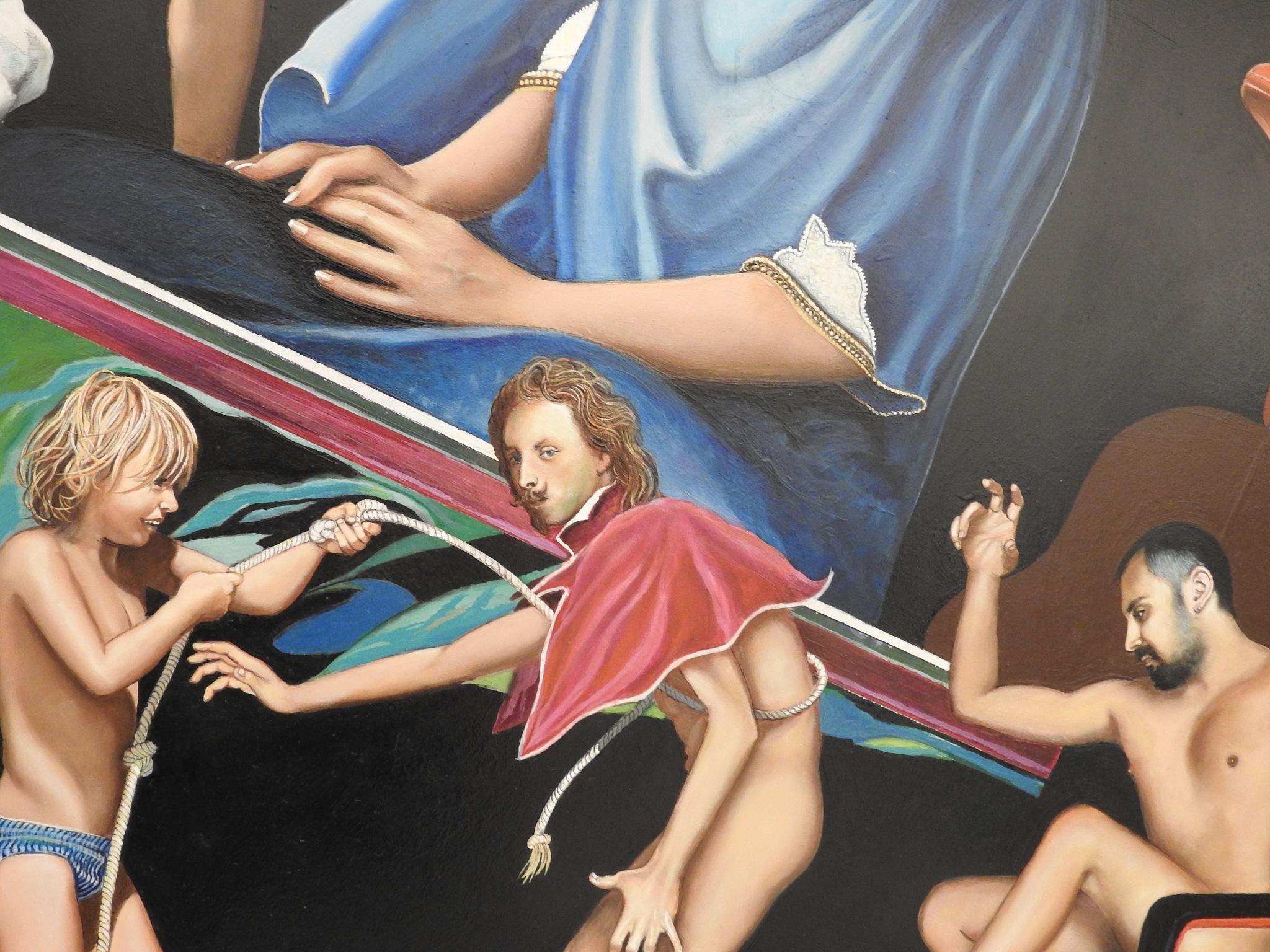 P.A.N. Napoli - Napoli Expo' Art Polis - Mario Gianquitto - Afrodite - 02 by Arnaldo De Lisio