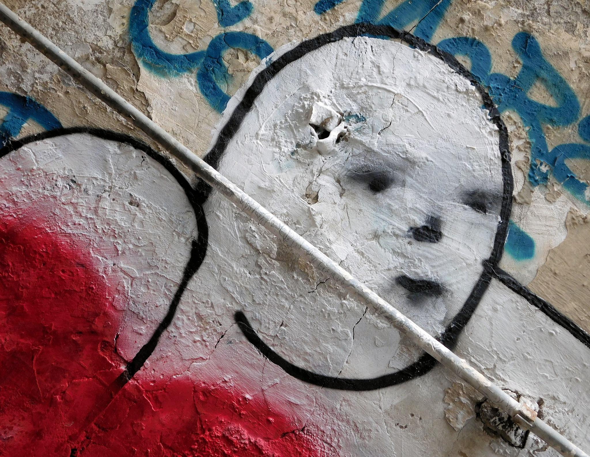 Naples Street Art - Just a Good Fellow by Arnaldo De Lisio