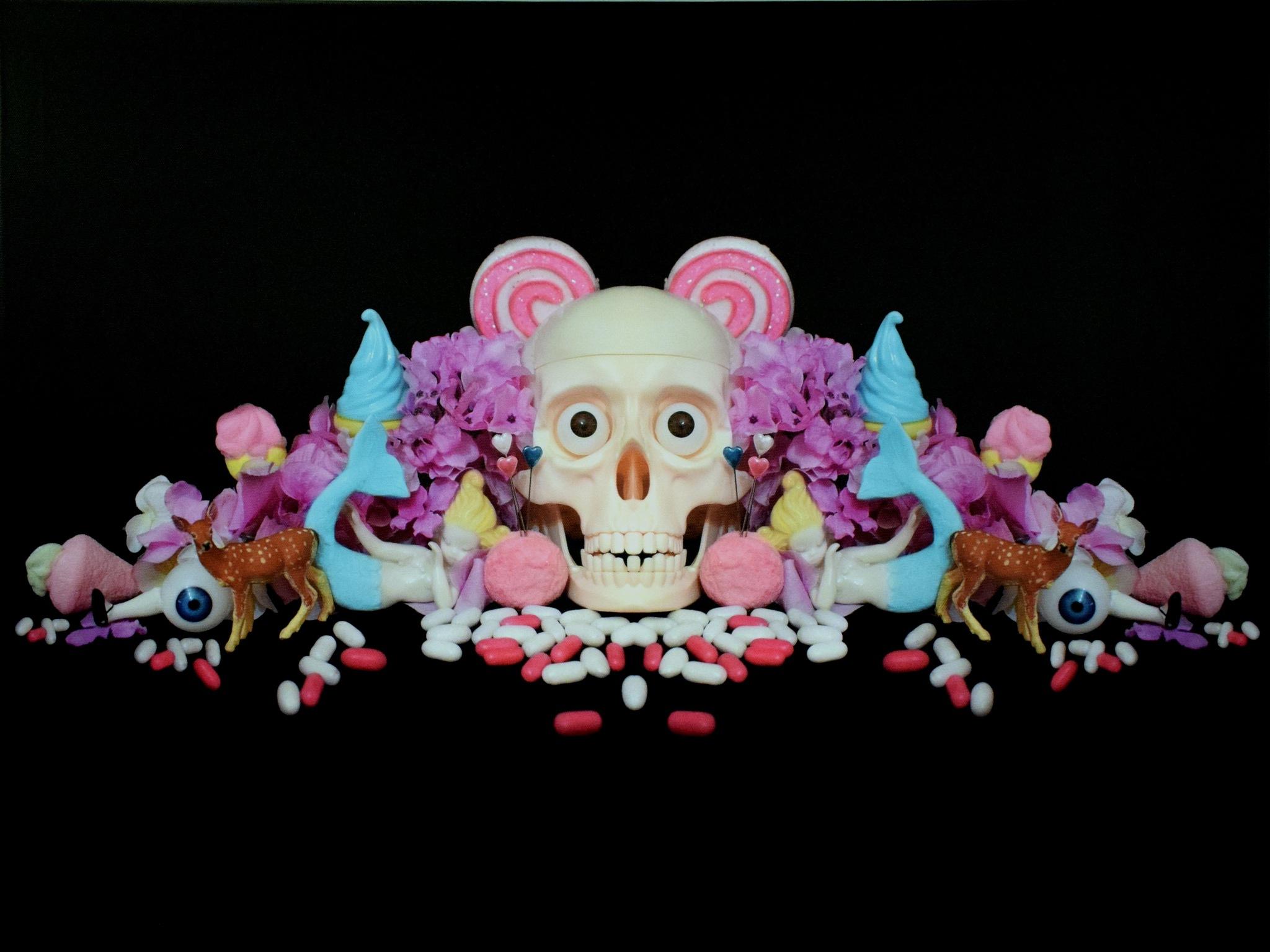 P.A.N. Napoli - Cristina Burns - Skull & Toys - Candyland - 20 by Arnaldo De Lisio