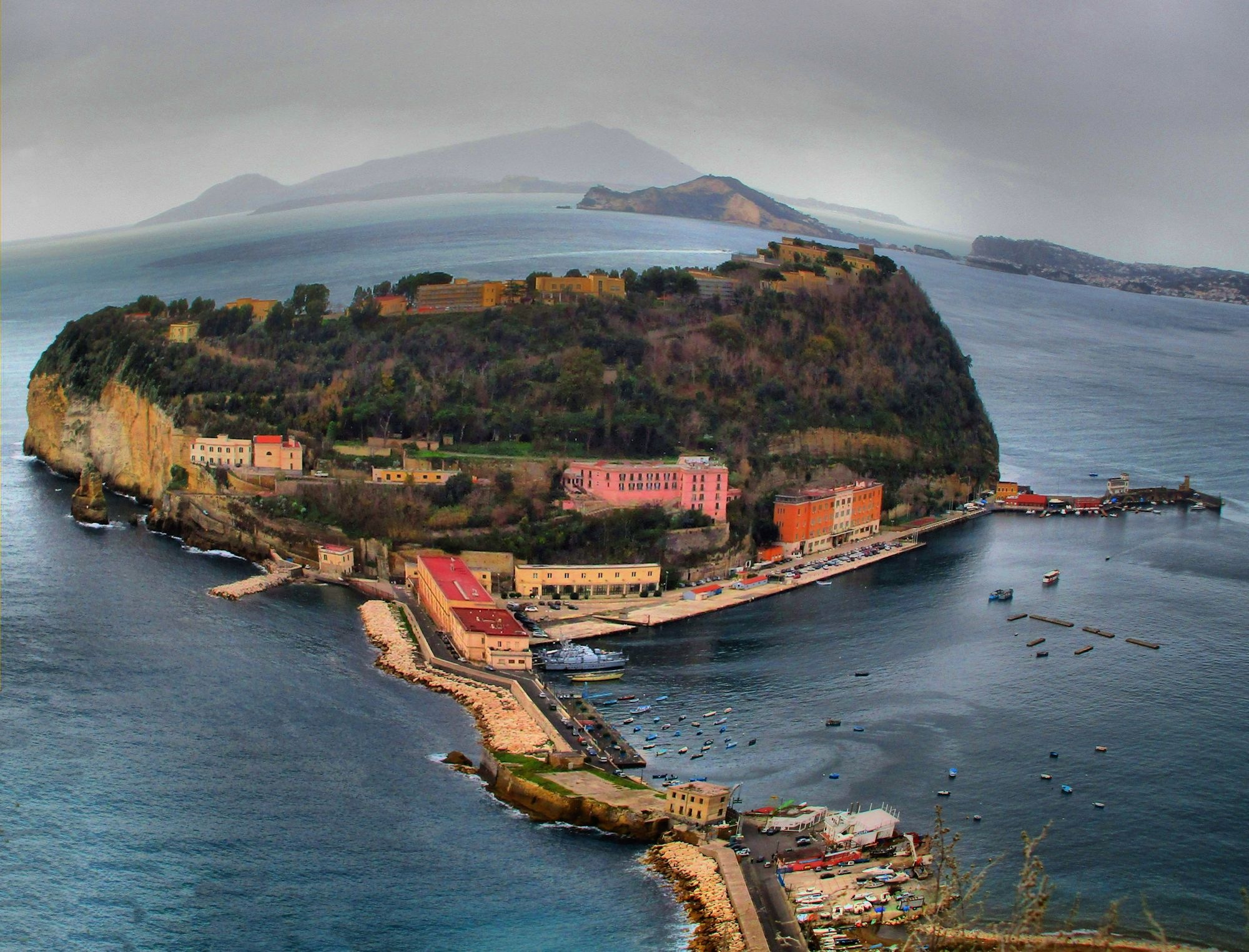 Reloaded - Italy Naples - Island of Nisida in HDR by Arnaldo De Lisio