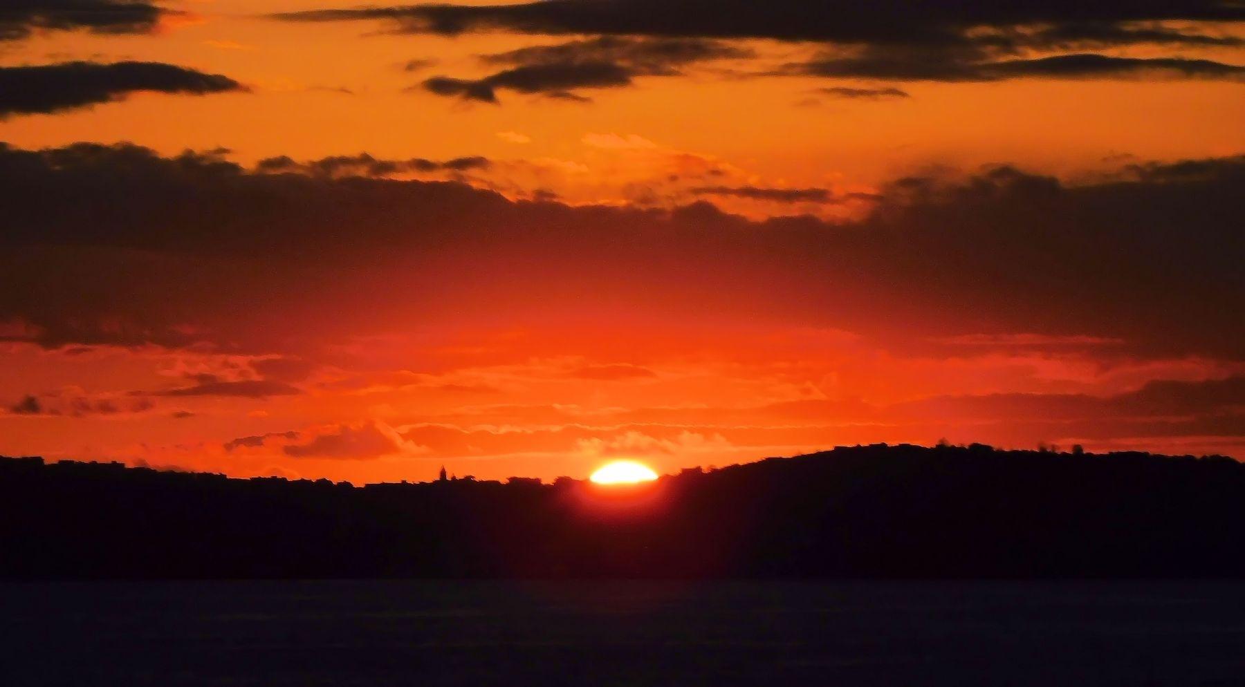 Sunrise... Dawn in Italy by Arnaldo De Lisio