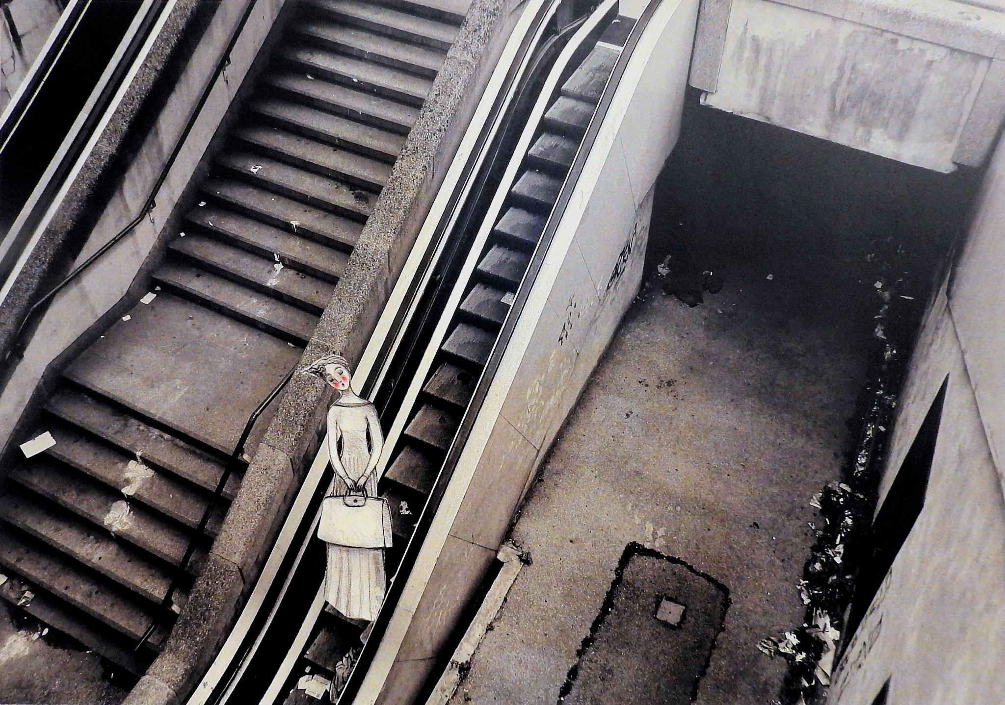 P.A.N. Napoli - Lilliana Comes - Renato Iannone - Fata di metropolitana by Arnaldo De Lisio