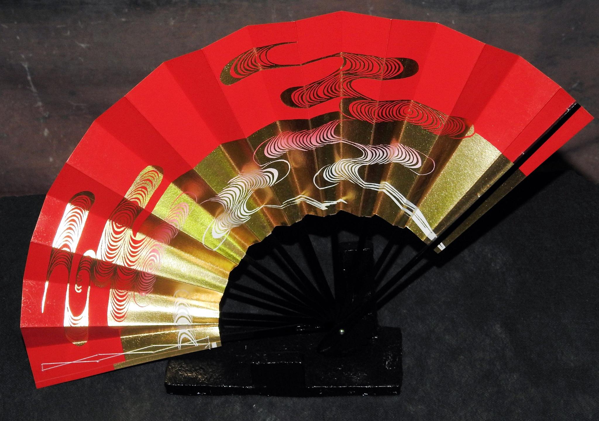 Naples  Meets The World - The Japan's Fan - 1 by Arnaldo De Lisio