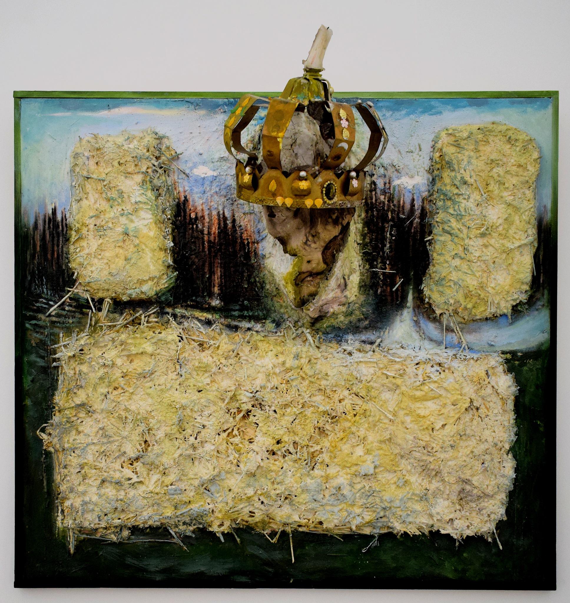 Photo in Fine Art #candela #candle #arte contemporanea #contemporary art #corona #crown #arnaldo de lisio #simona pasquali #intentart #pezzi di storia in avaria #napoli #spazio martucci 56 #fernando pisacane #a momentary pause of naturae