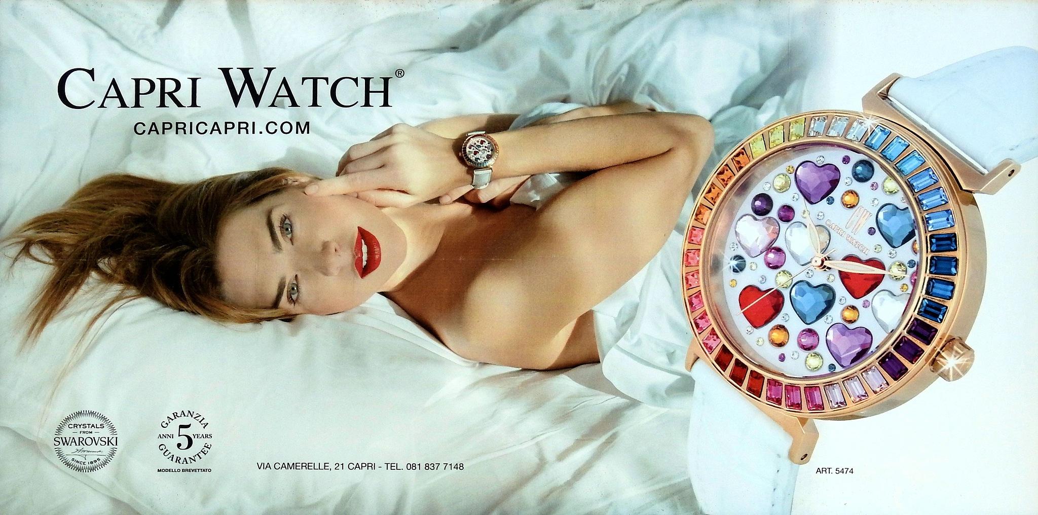 Naples - Capri Watch - Fashion & Watch by Arnaldo De Lisio